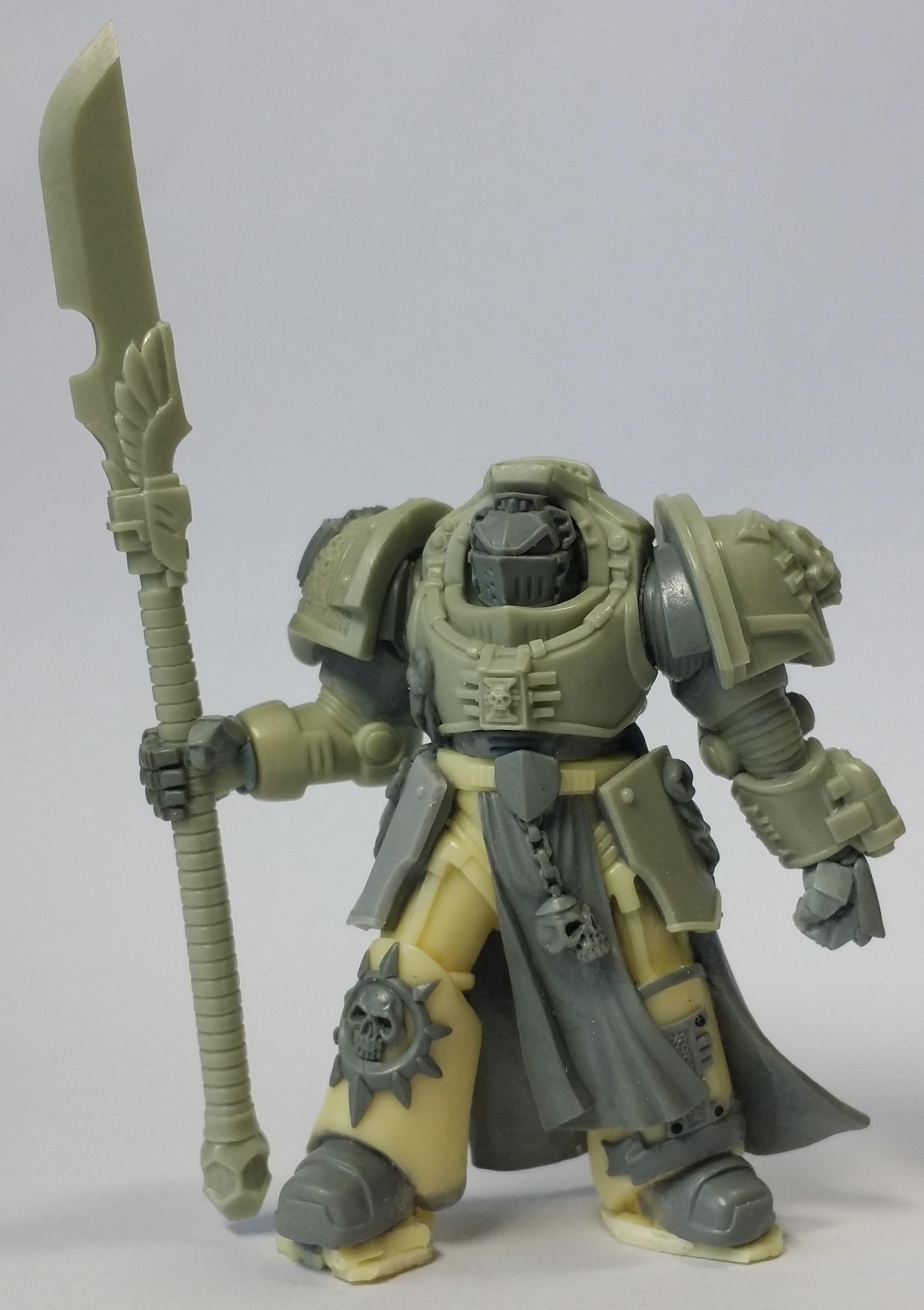 True Scale Terminator Silver Grey Knight Daemonhunter