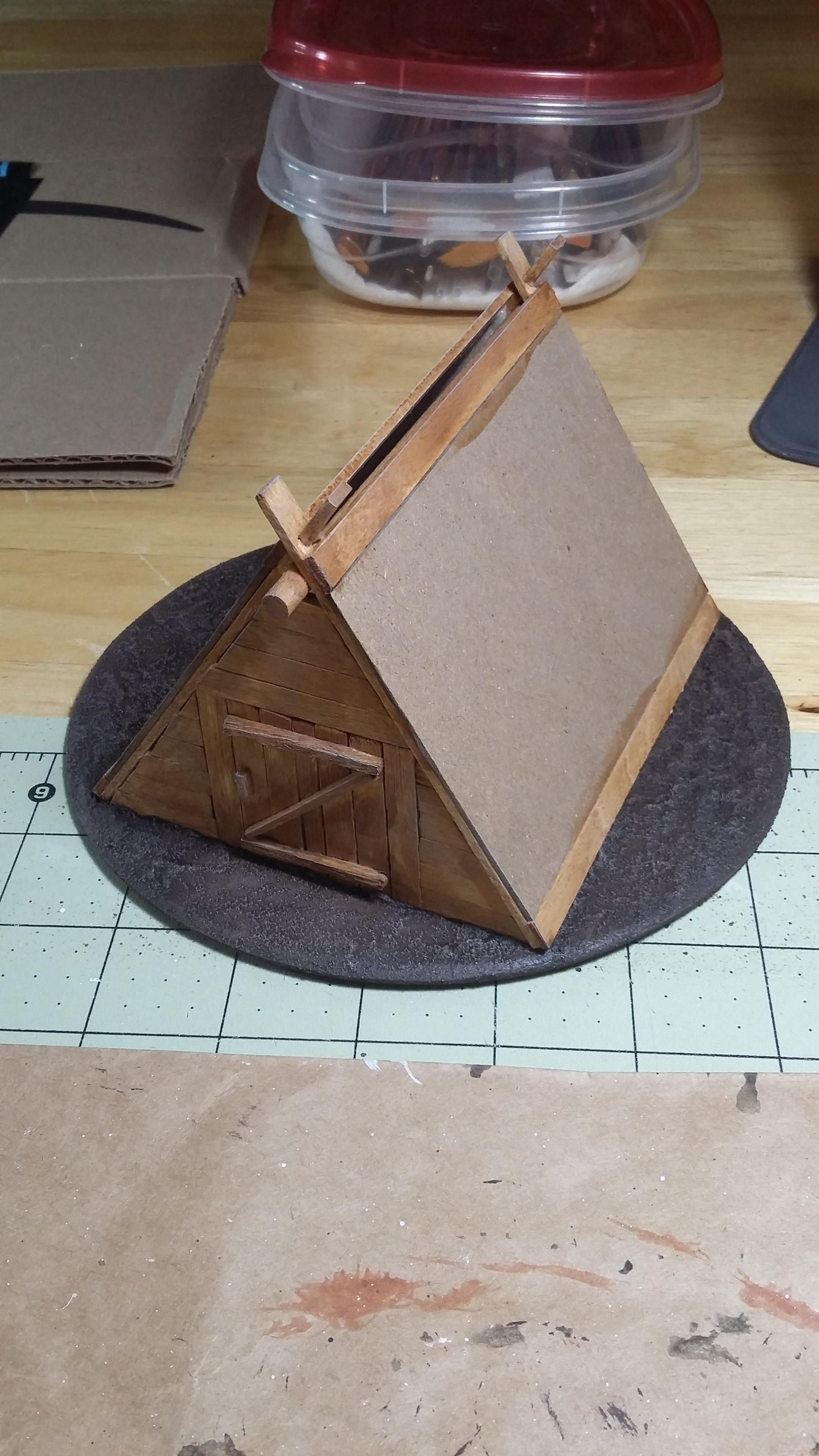 A-frame, Buildings, Historical, Structure, Terrain, Work In Progress