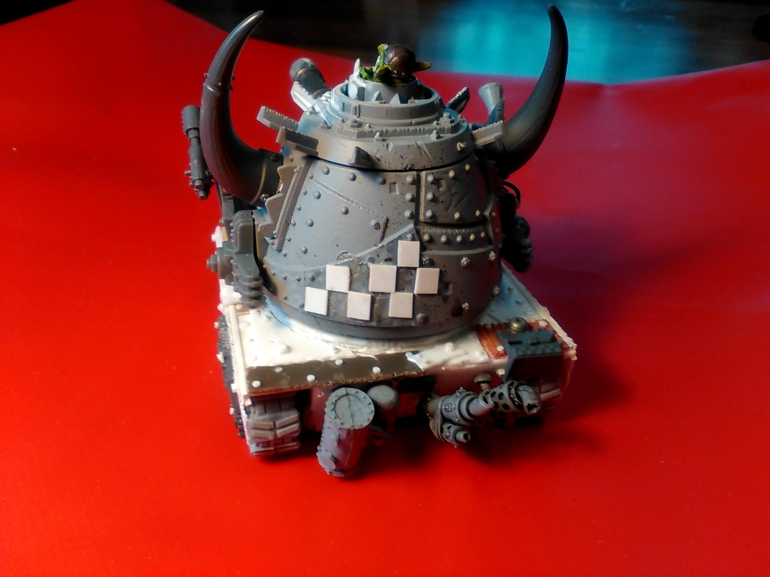 Conversion, Grot Conversion, Grot Tank, Grot Tank 3, Grots, Kitbash, Kitbashed, Ork Conversions, Ork Coustom Made Vehicles, Orks, Scratch Build, Warhammer 40,000