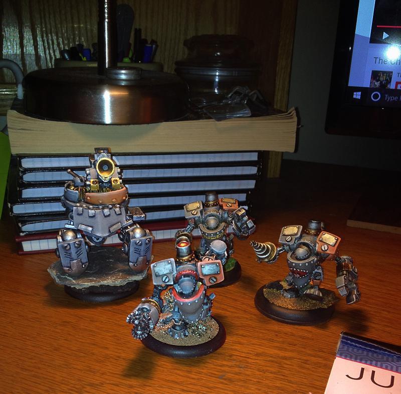 Conversion, Dwarves, Mercenary, Rhul, Rhulic, Warmachine