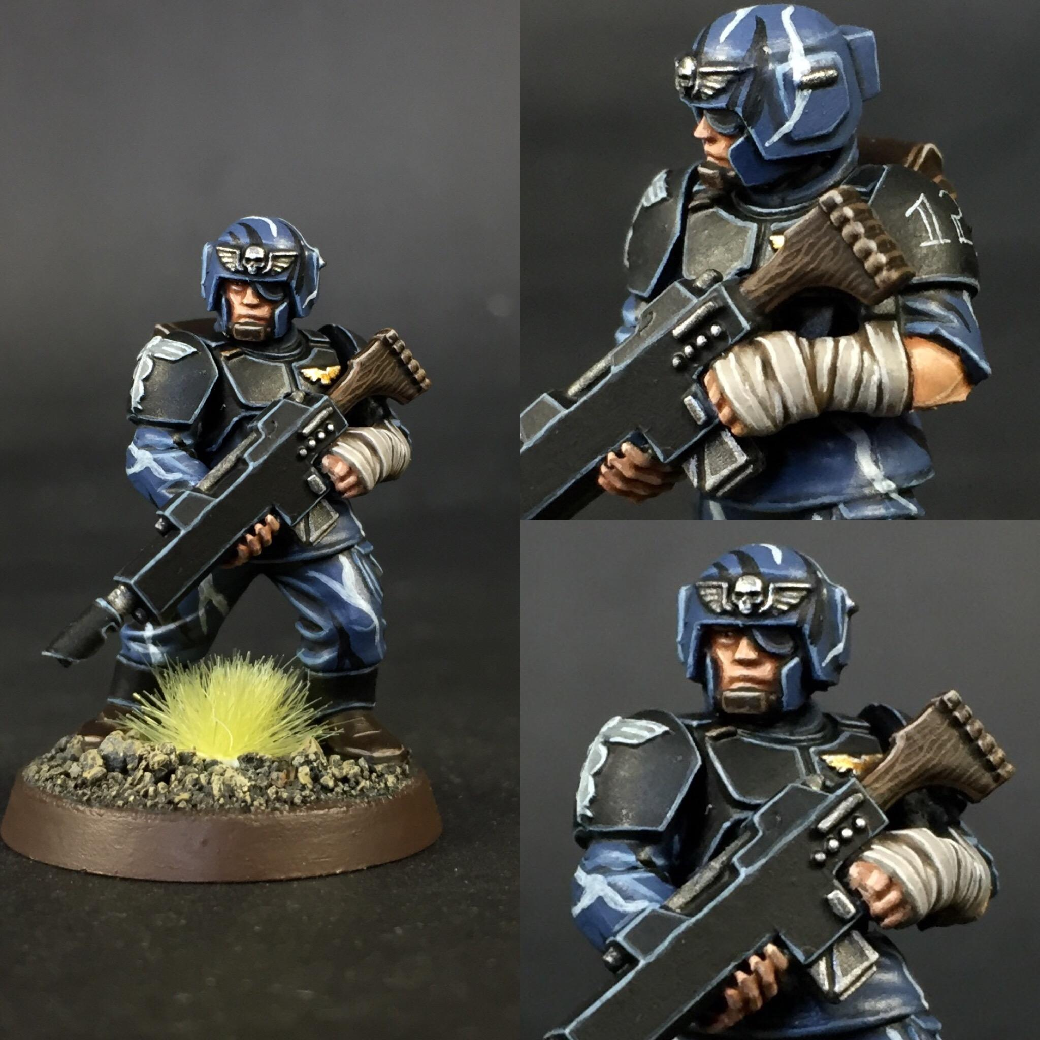 Cadians, Imperial Guard, Infantry, Medic, Wooden