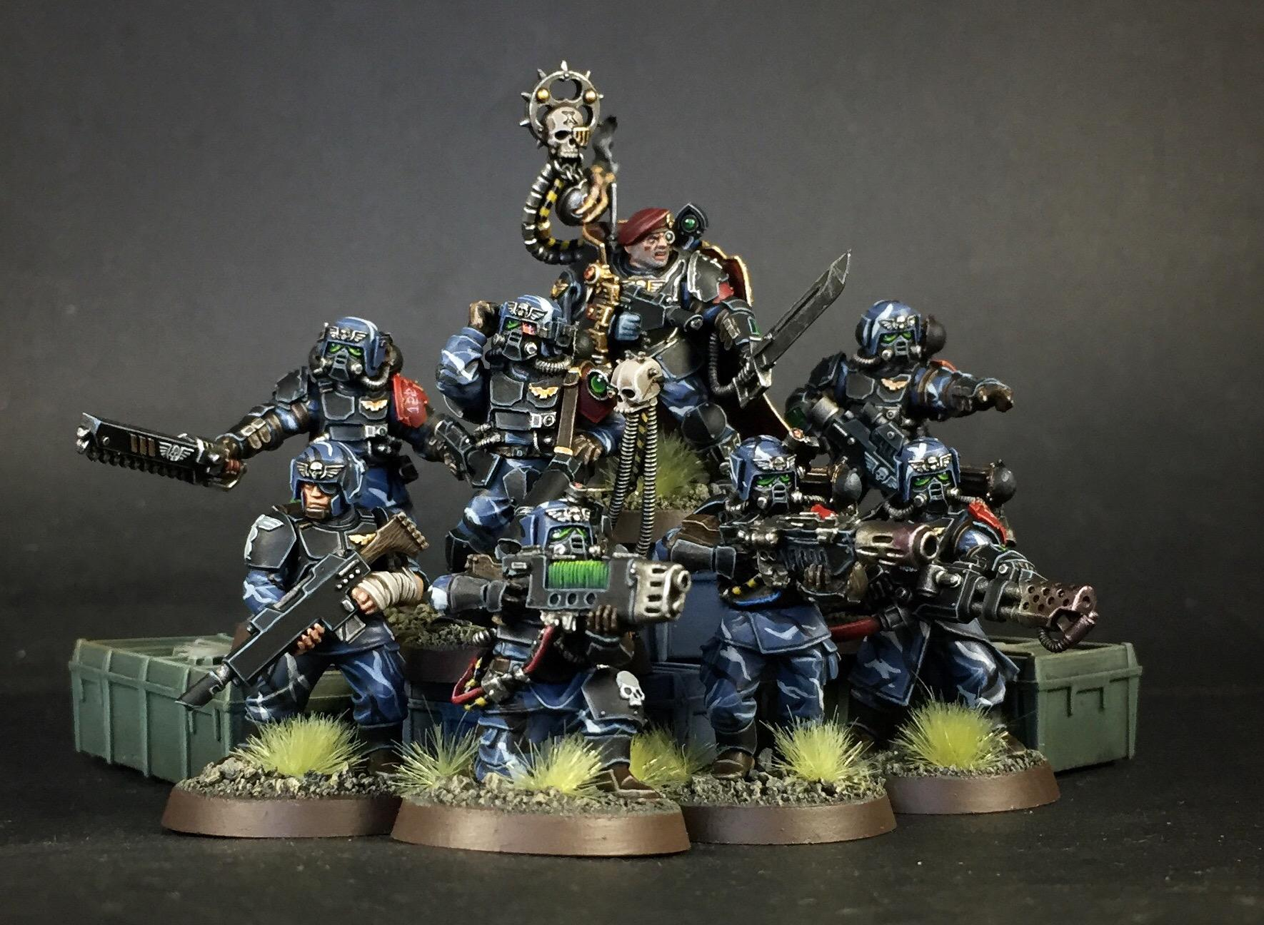 Imperial Guard, Kitbash, Last Stand, Scions