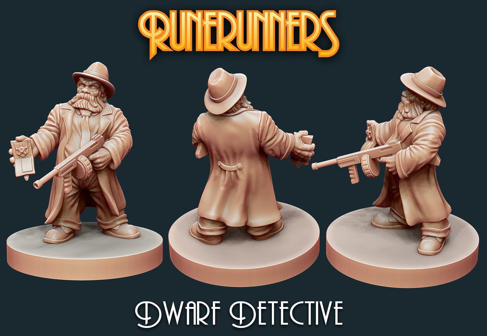 Runerunners Dwarf Detective