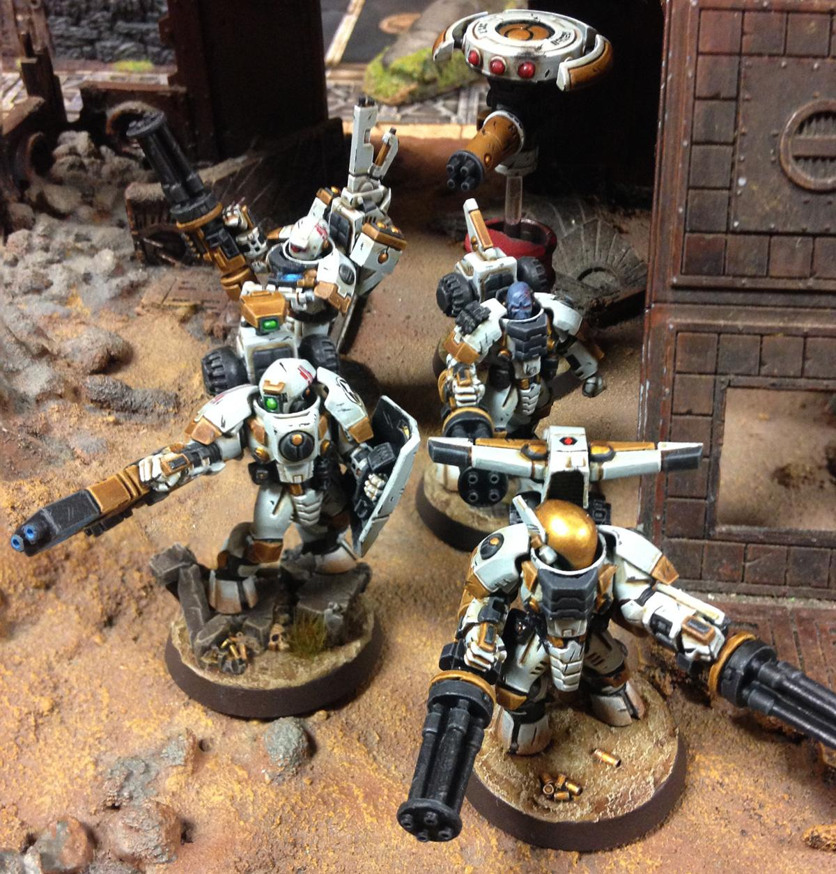 Conversion, Kill Team, Tau, Tau Empire, Warhammer 40,000