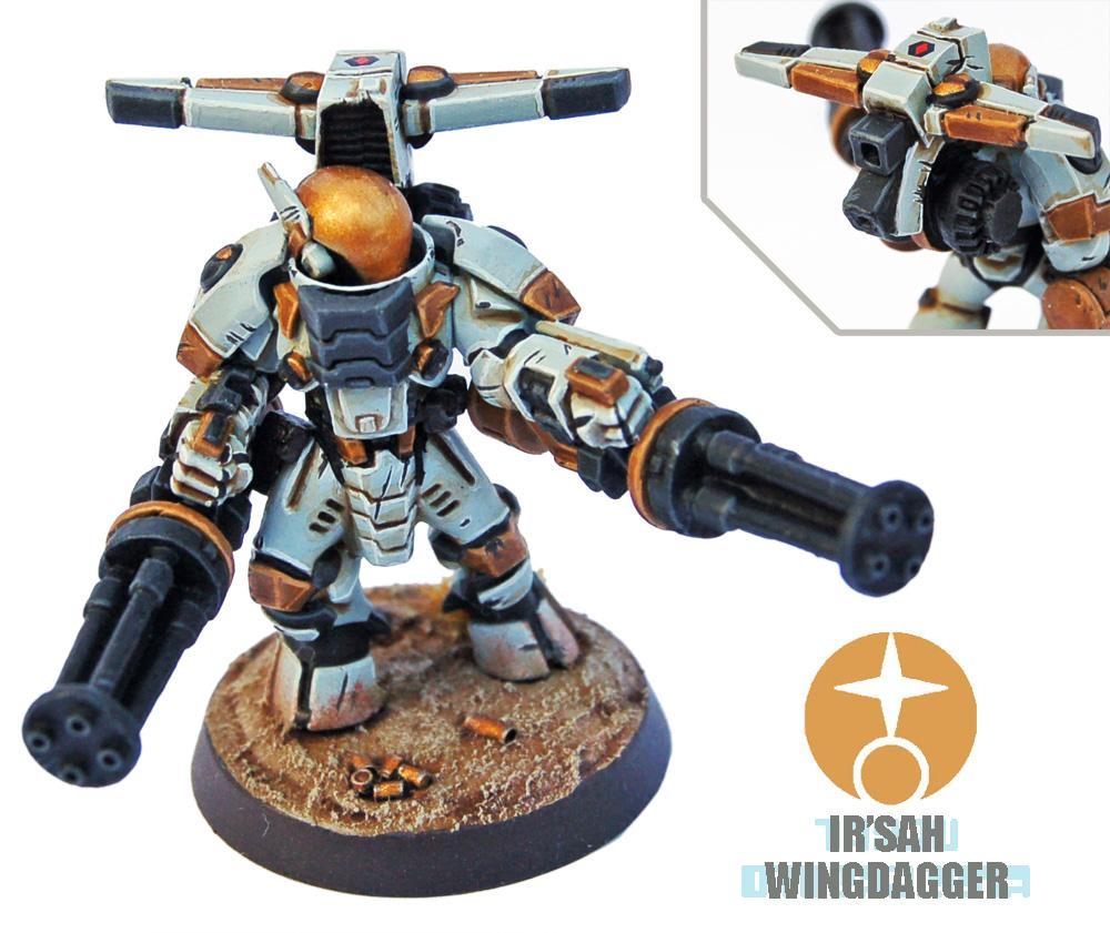 Battlesuit, Burst Cannon, Conversion, Heavy, Kill Team, Scouts, Stealthsuit, Tau, Tau Empire, Warhammer 40,000