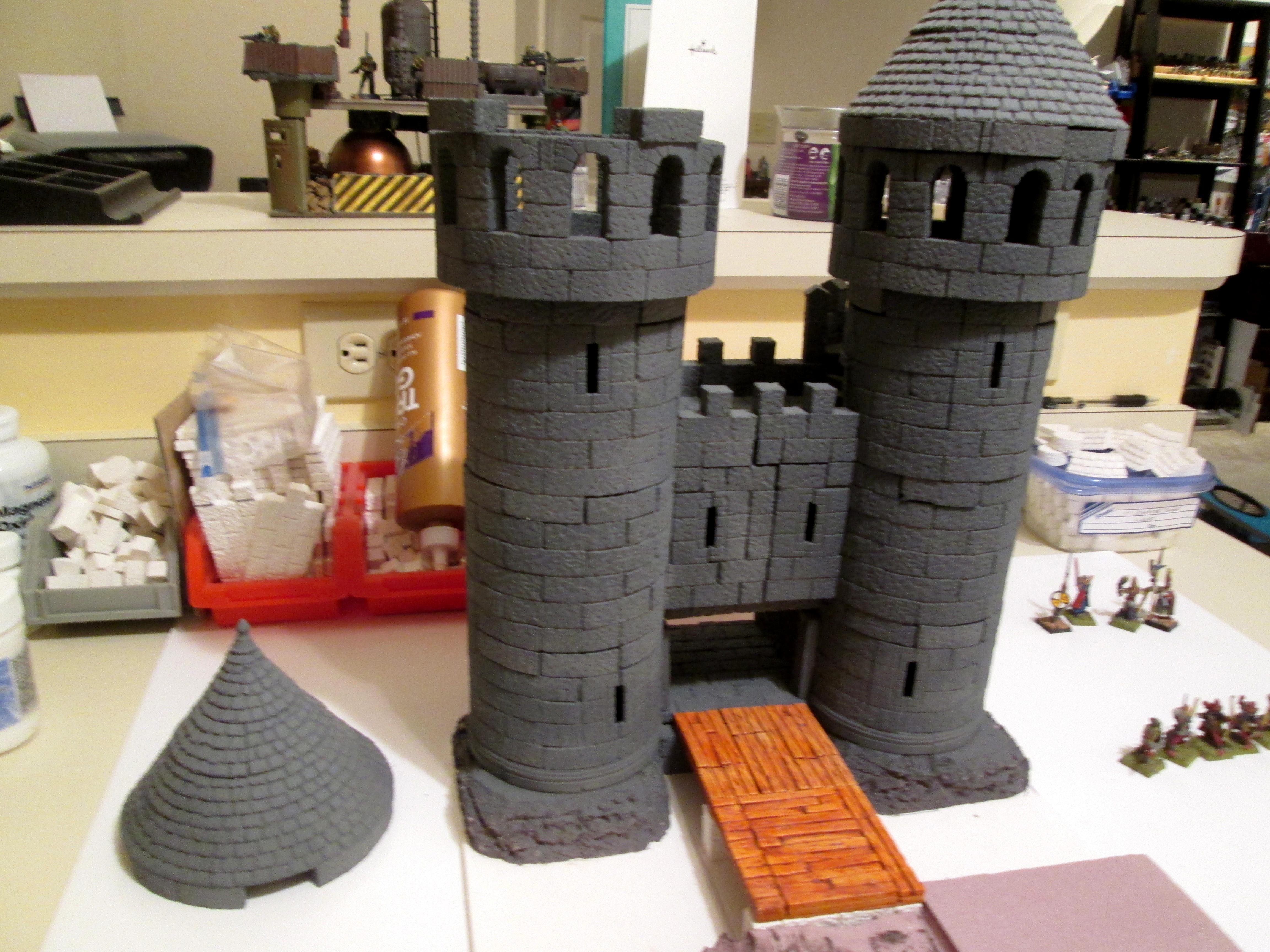 Castle, Hirst Arts, Warhammer Fantasy