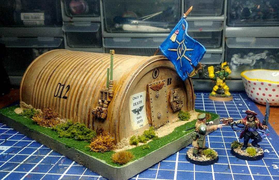 Quansent Hut, Recycling, Scratch Build, Terrain