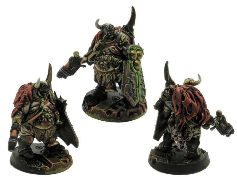 Bounty Hunter, Chaos, Cultist, Gangs, Hired Gun, Necromunda, Nurgle, Plasma Pistol, Warhammer 40,000, Warhammer Fantasy