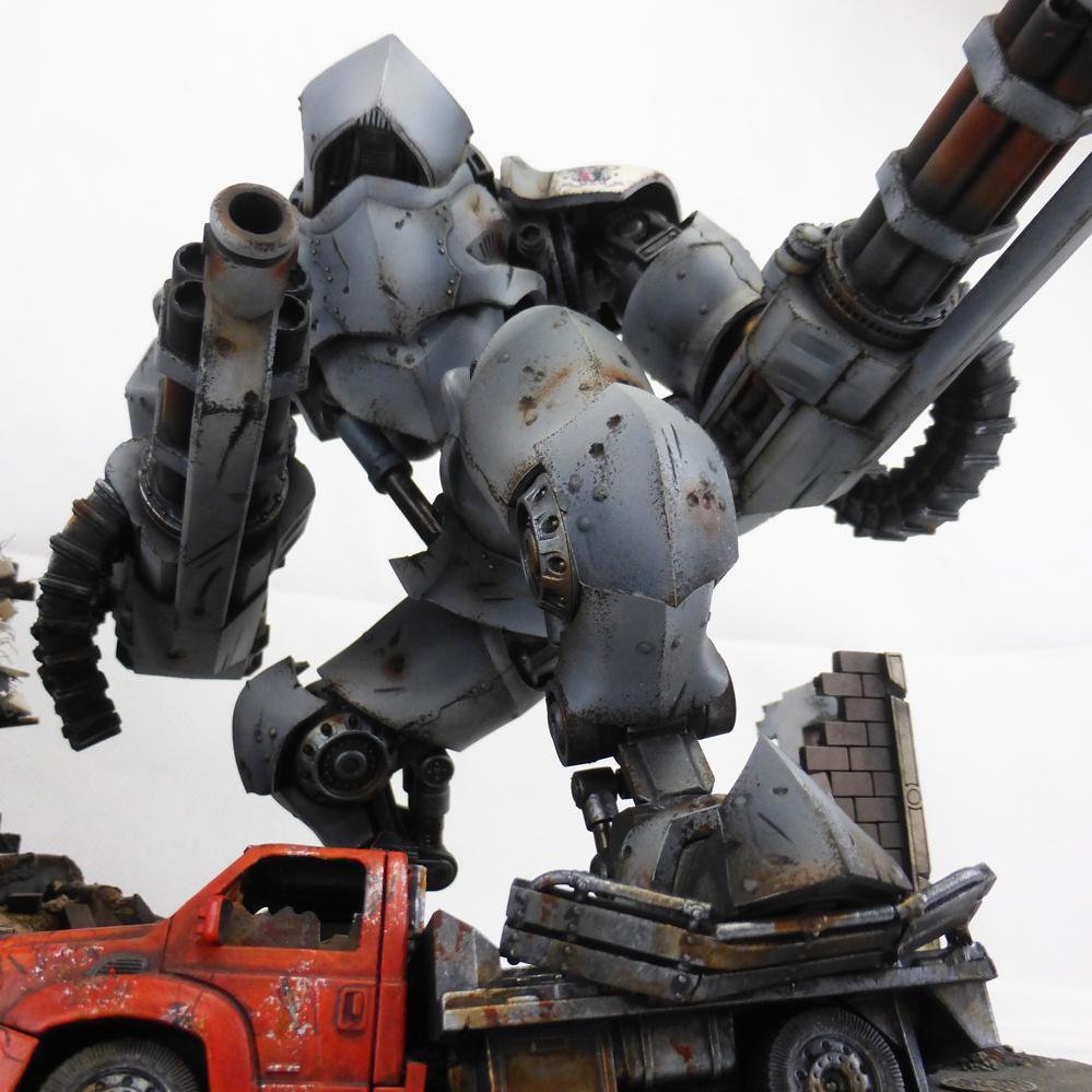 Crush, Dreamforge, Leviathan, Sci Fi, Titan, Truck