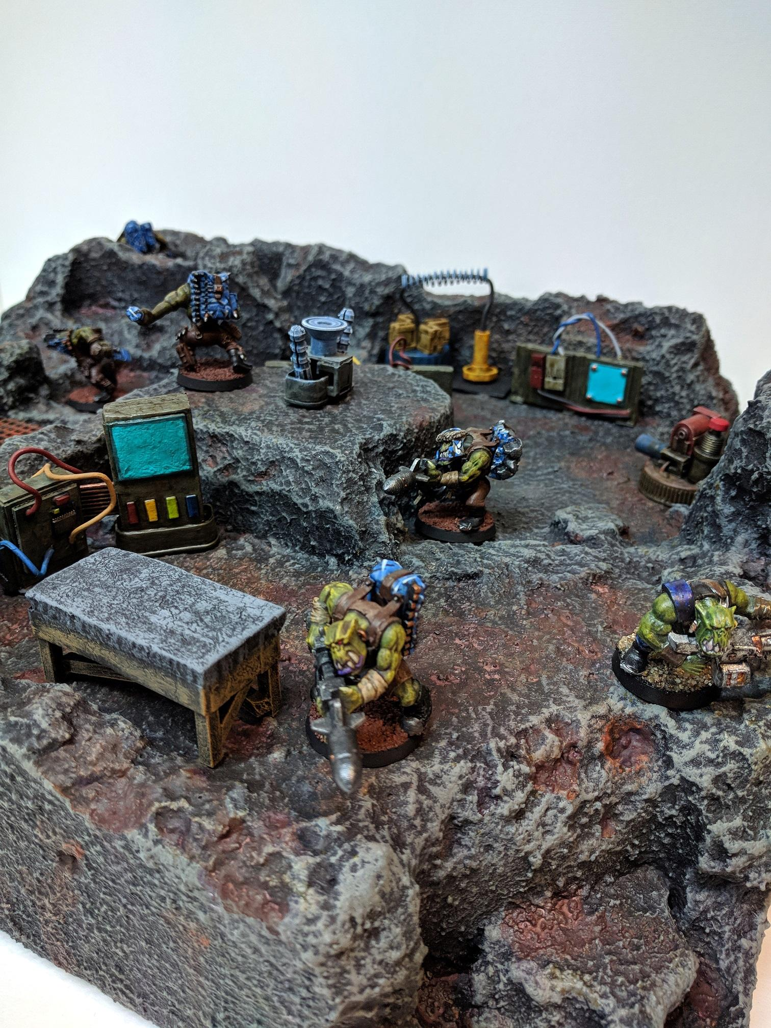 Kommando, Kommandoes, Orks, Rust, Scatter, Scratch Build, Terrain