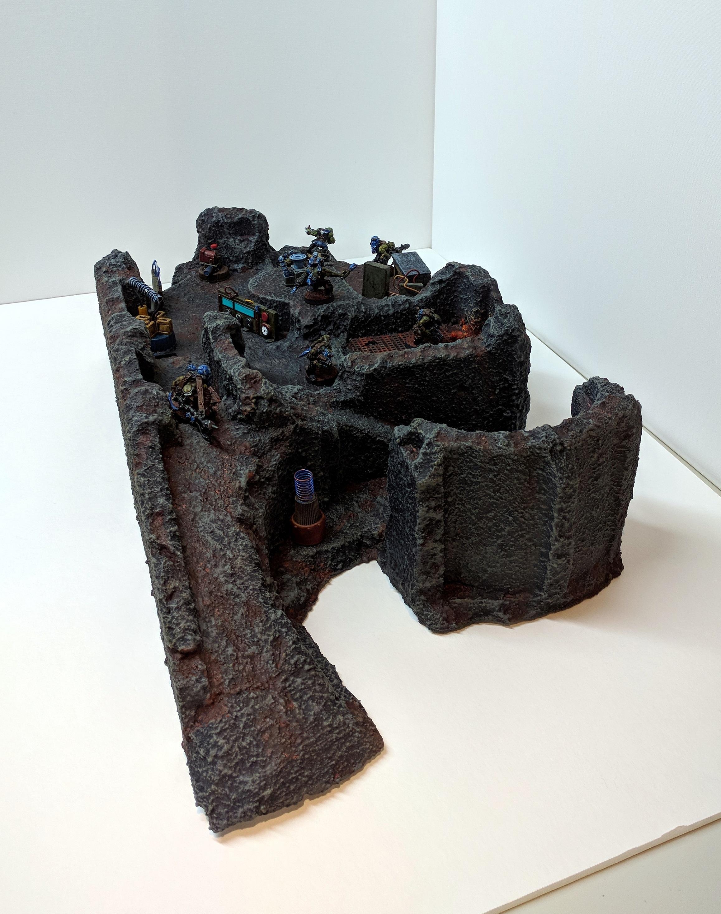 Kommando, Kommandoes, Orks, Rust, Scatter, Scratch Build, Terrain