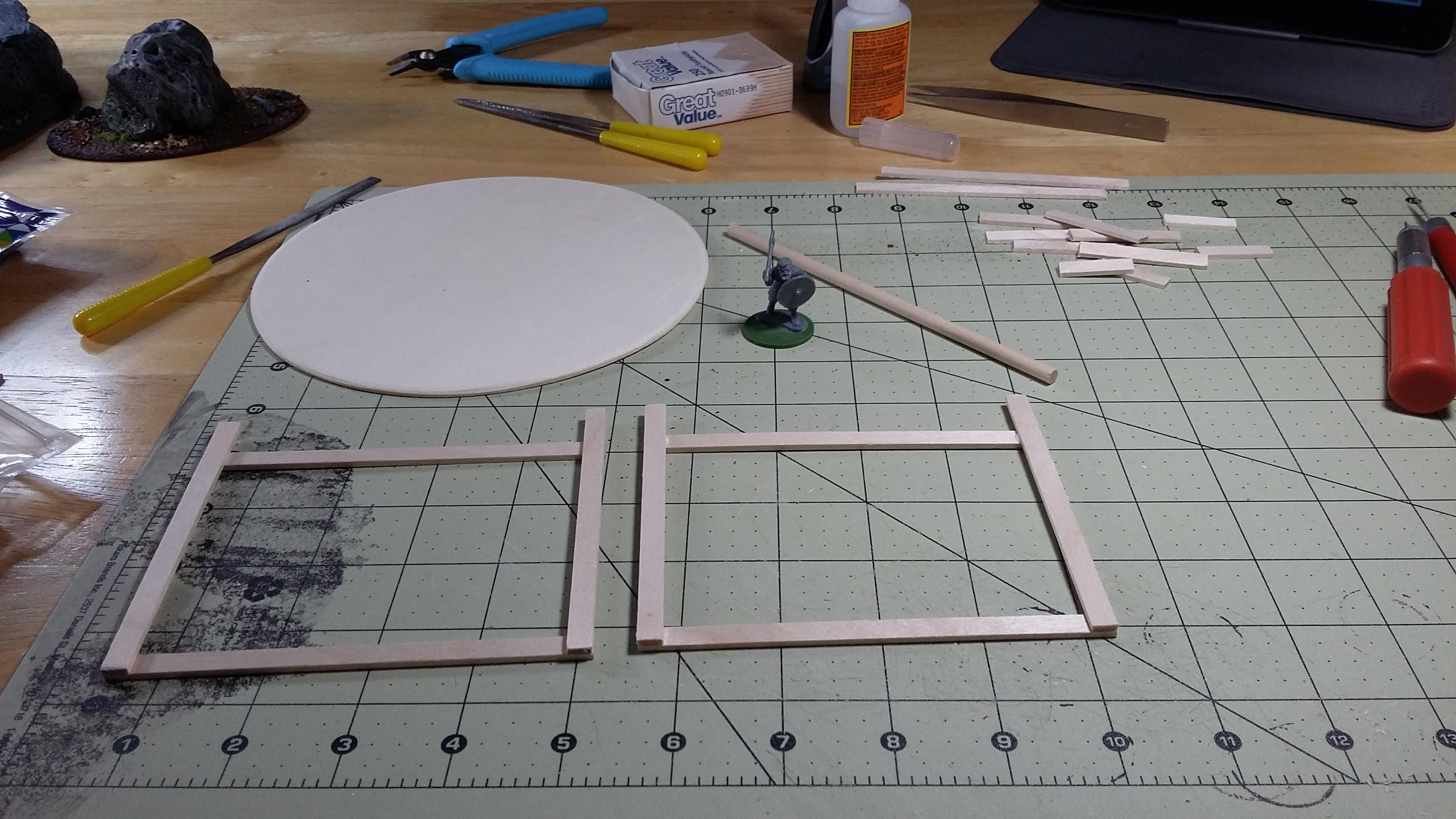 A-frame, Buildings, Structure, Terrain, Work In Progress