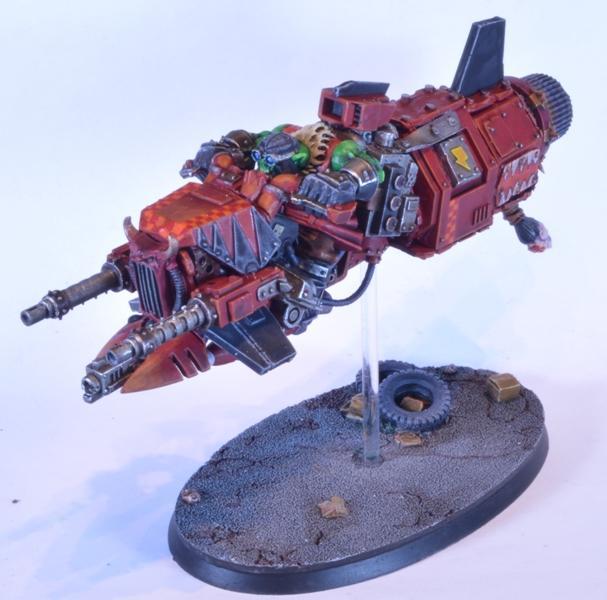 Conversion, Jetbike, Ork Jetbike, Warhammer 40,000