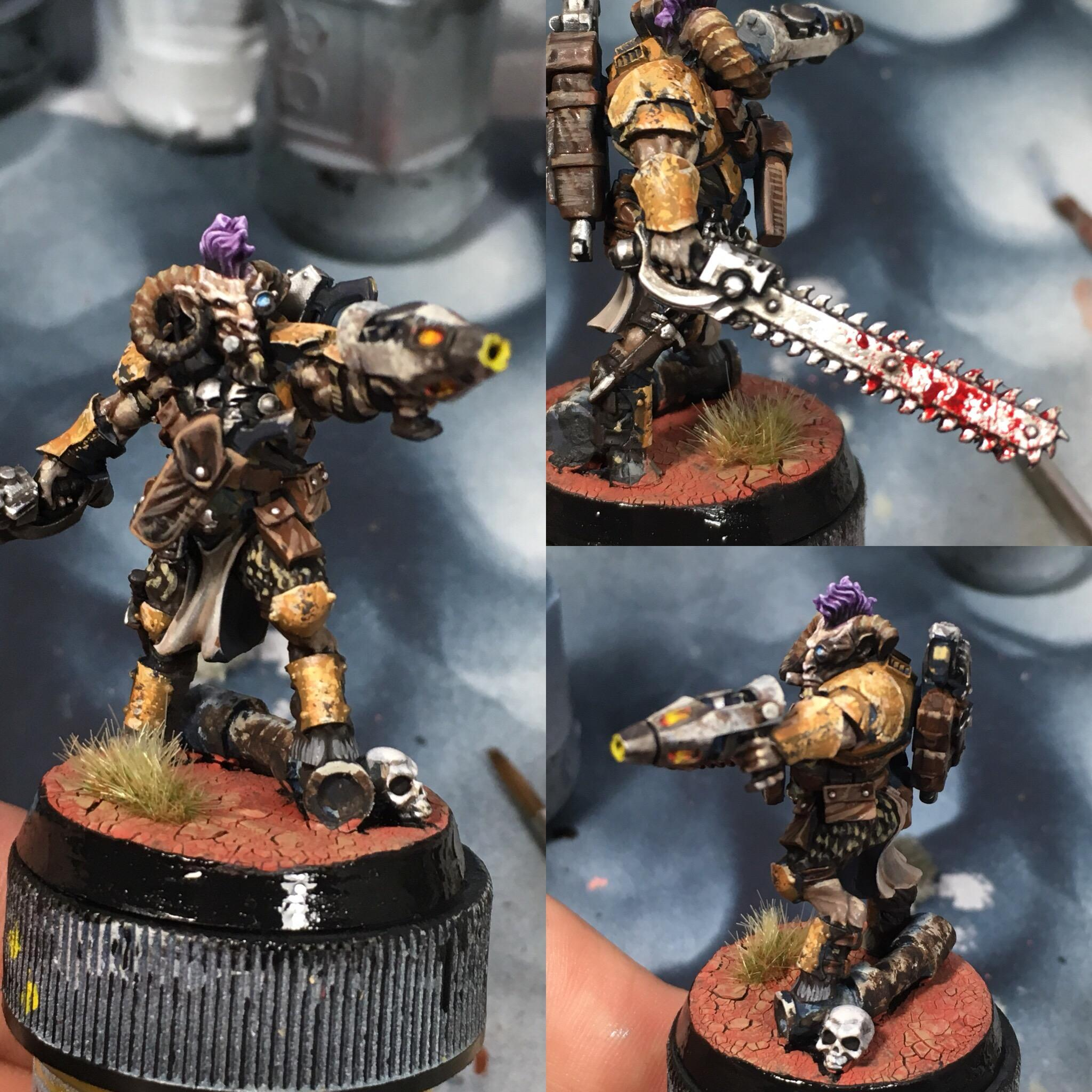 Knarloc, Kroot, Mercenary, Sslyth