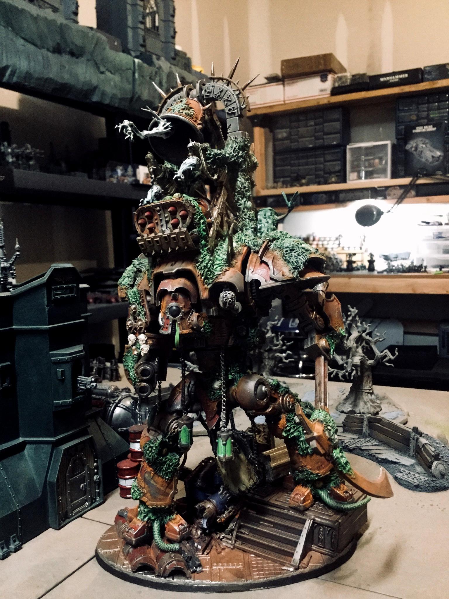 Chaos, Knights, Nurgle, Renegade, Traitor Knight, Warhammer 40,000