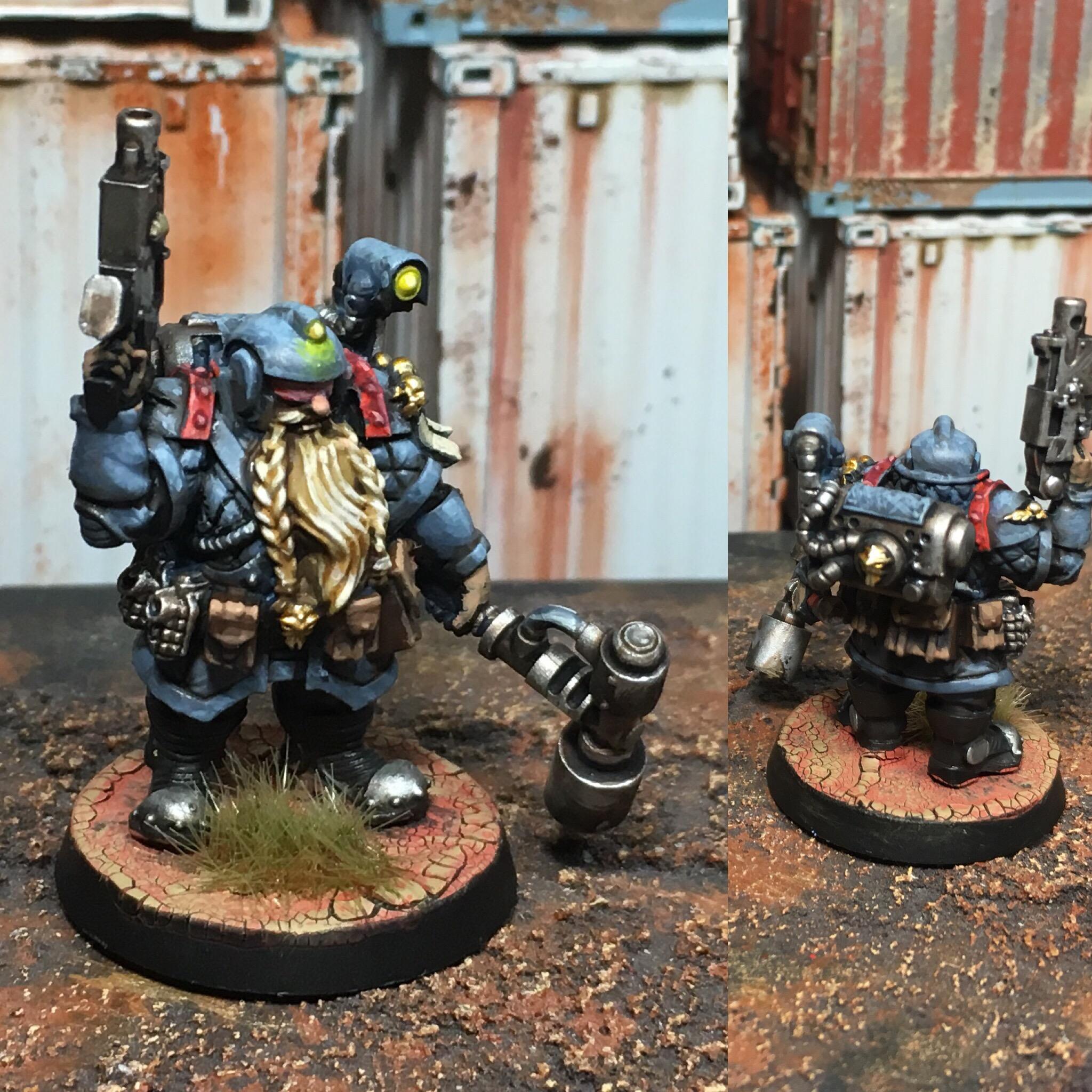 Abhuman, Knarloc, Kroot, Mercenary, Squats