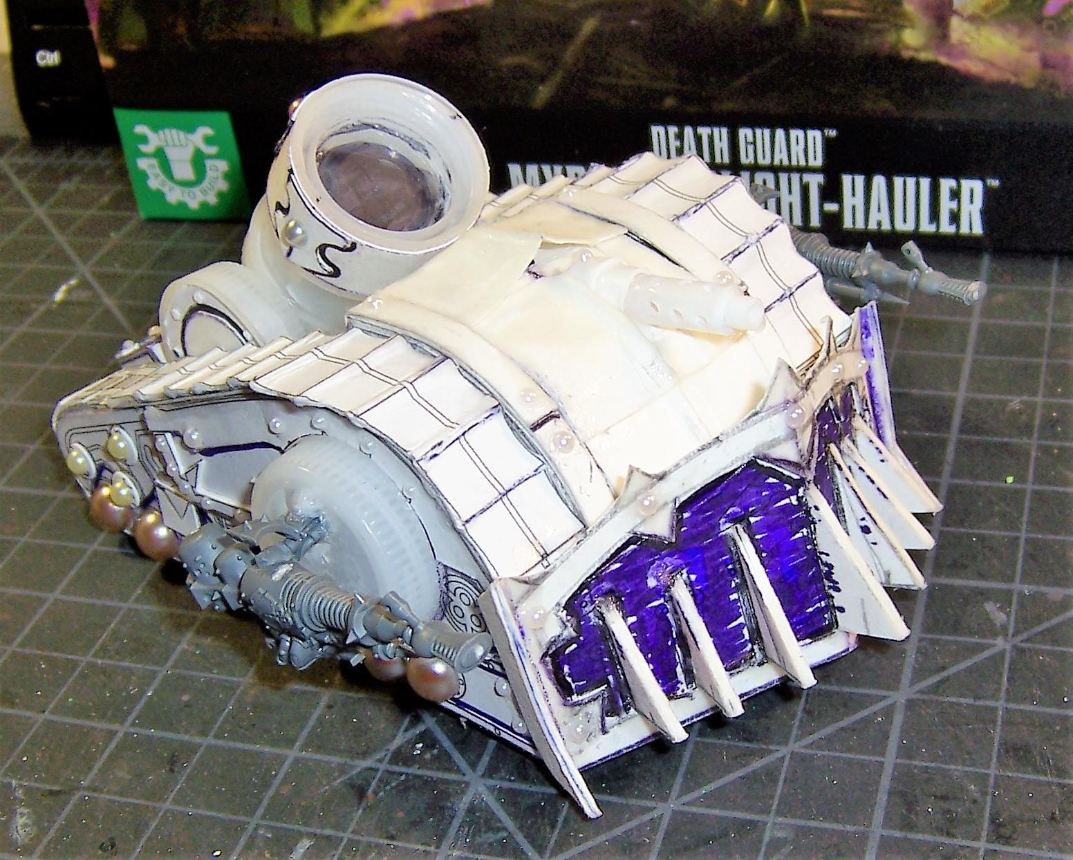 Death Guard, Nurgle, Plague Marines, Plagueburst Crawler, Scratch Build, Warhammer 40,000