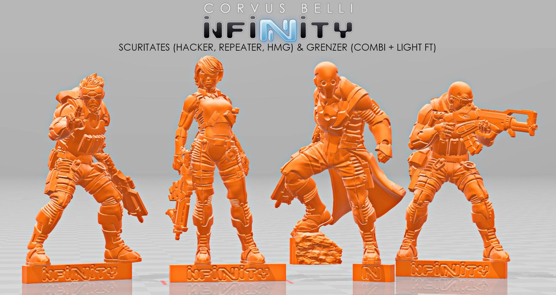 Grenzer and Securitate boxed set renders