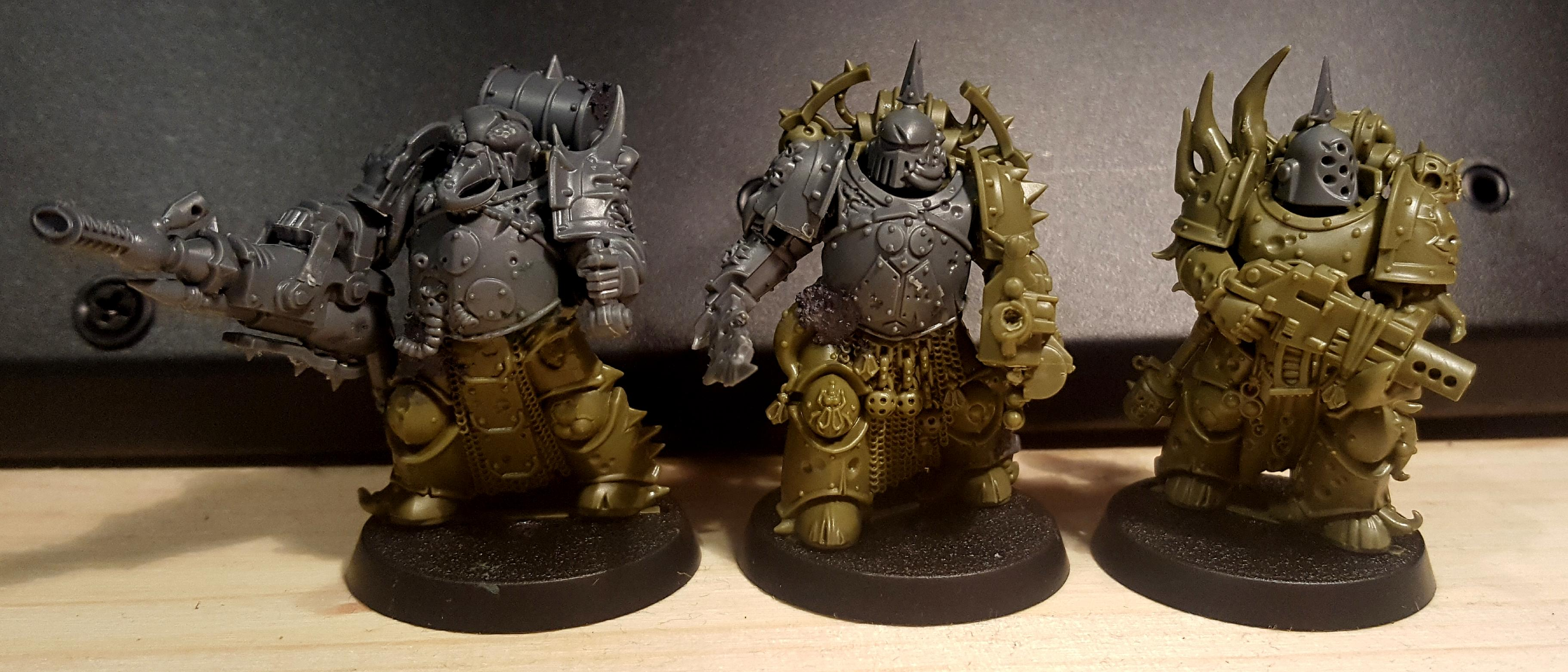 Converted Easy Build Plague Marines