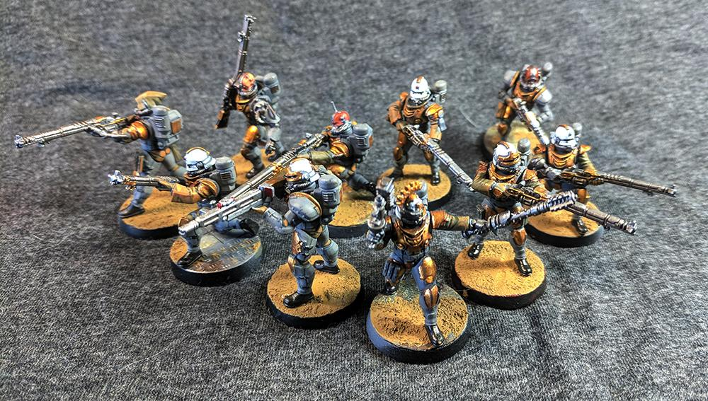 Dreamforge, Infantry, Mechanicus, Rogue Trader, Skitarii