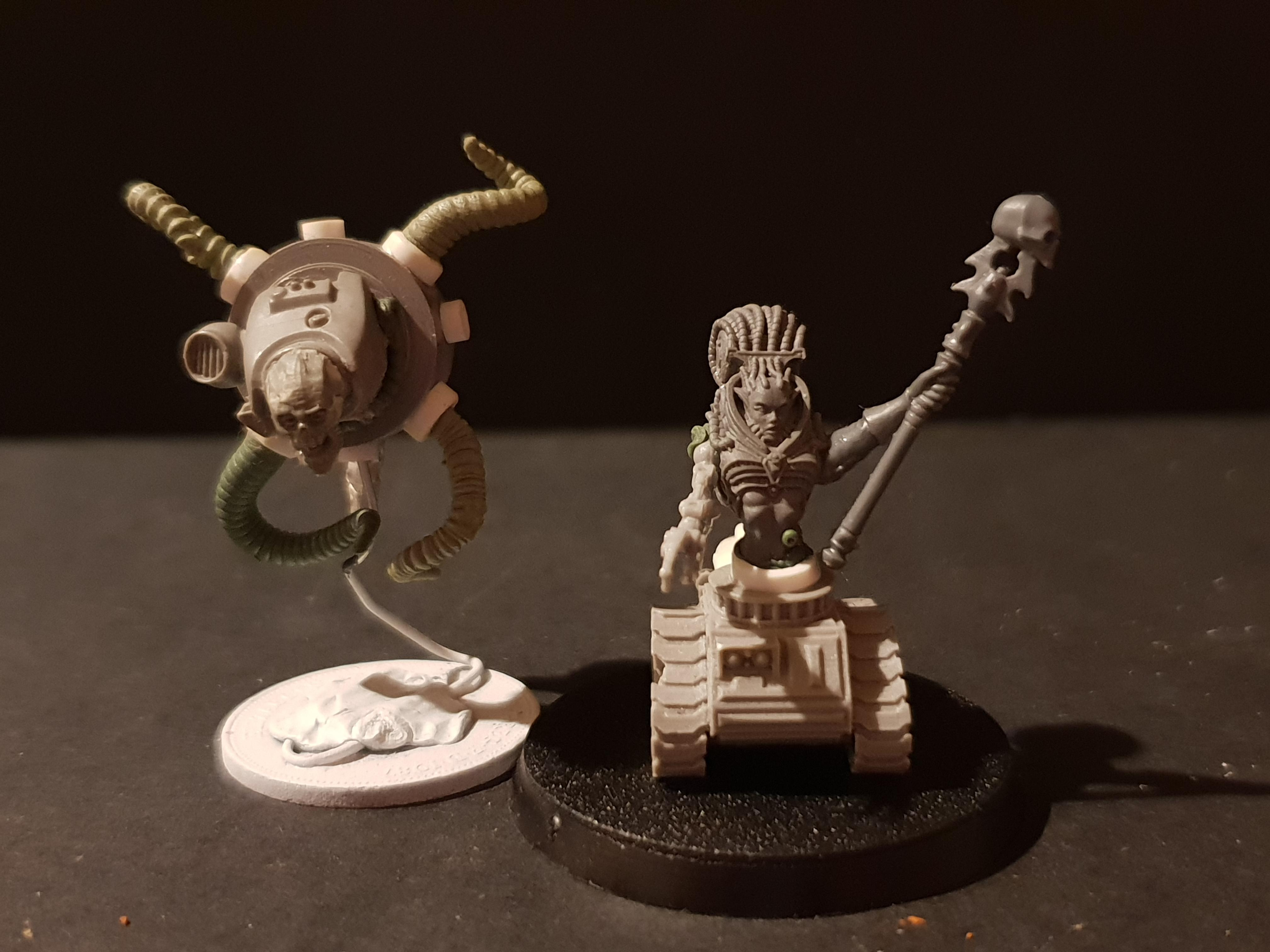 Conversion, Hover, Inquisitorial, Servitors, Track, Warhammer 40,000, Work In Progress