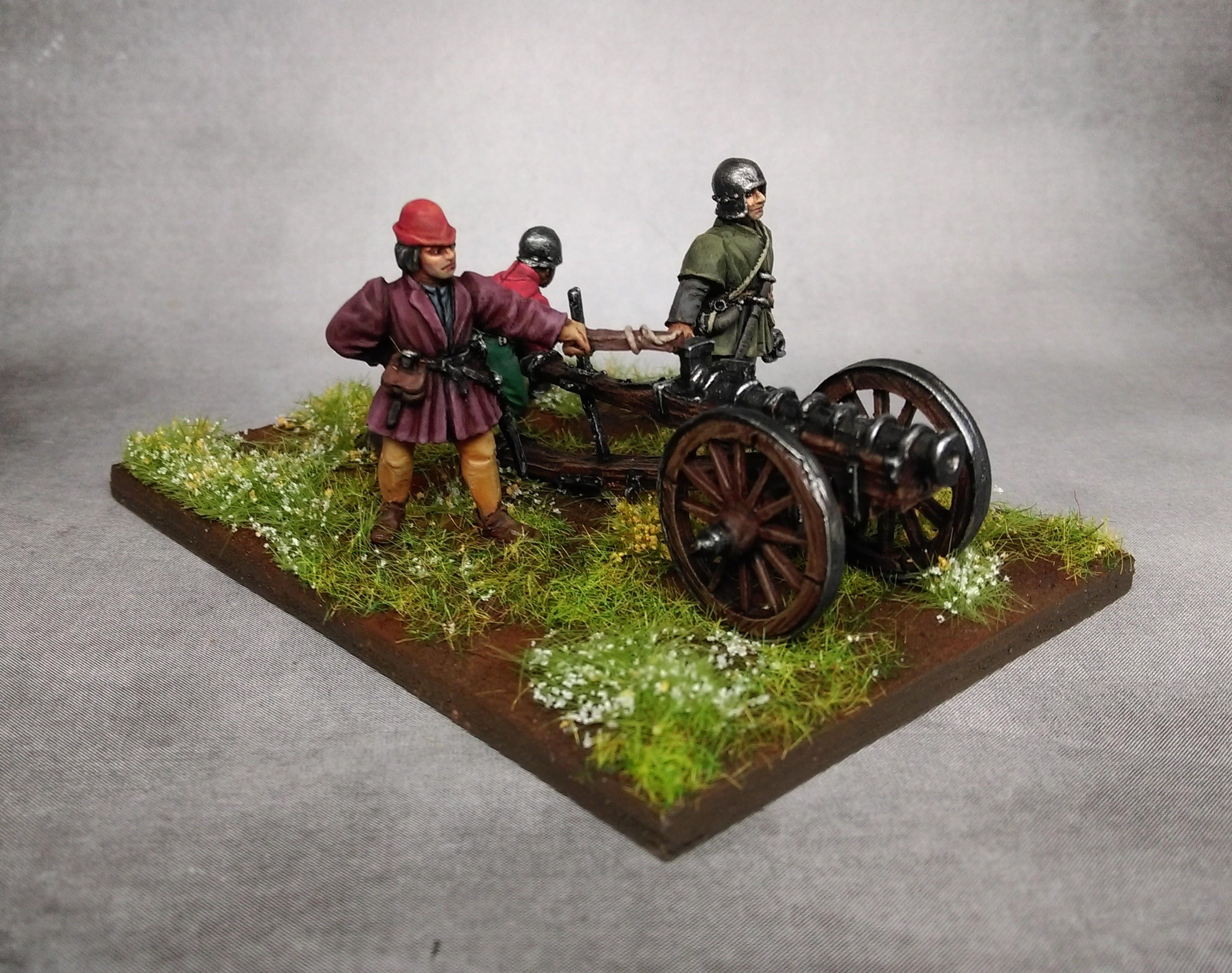 Age Of Sigmar, Artillery, Cannon, Empire, Medieval, Perry Miniatures, Warhammer Fantasy