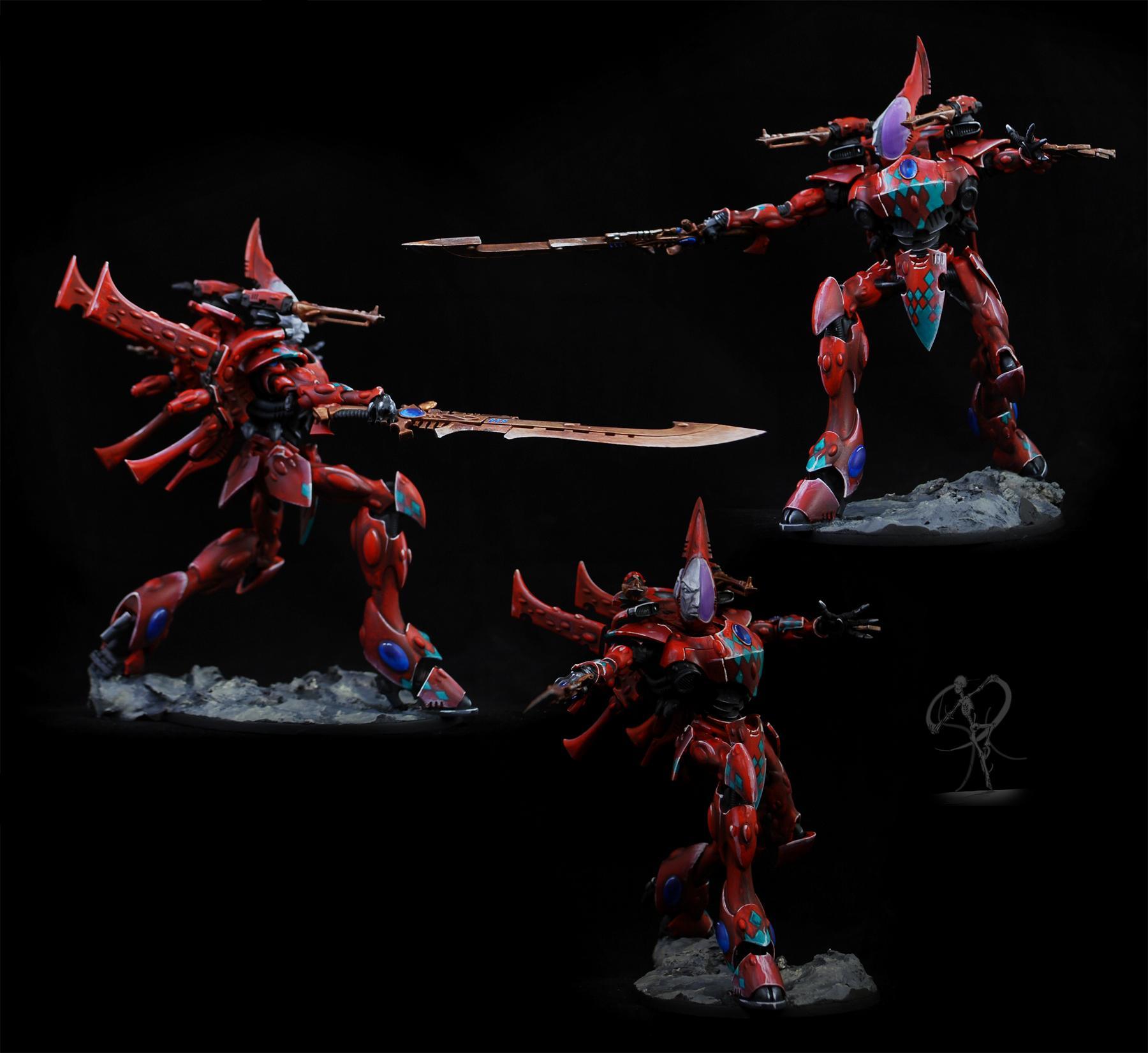 Conversion, Eldar, Freehand, Knights, Magnet, Non-Metallic Metal, Titan, Wraithknight