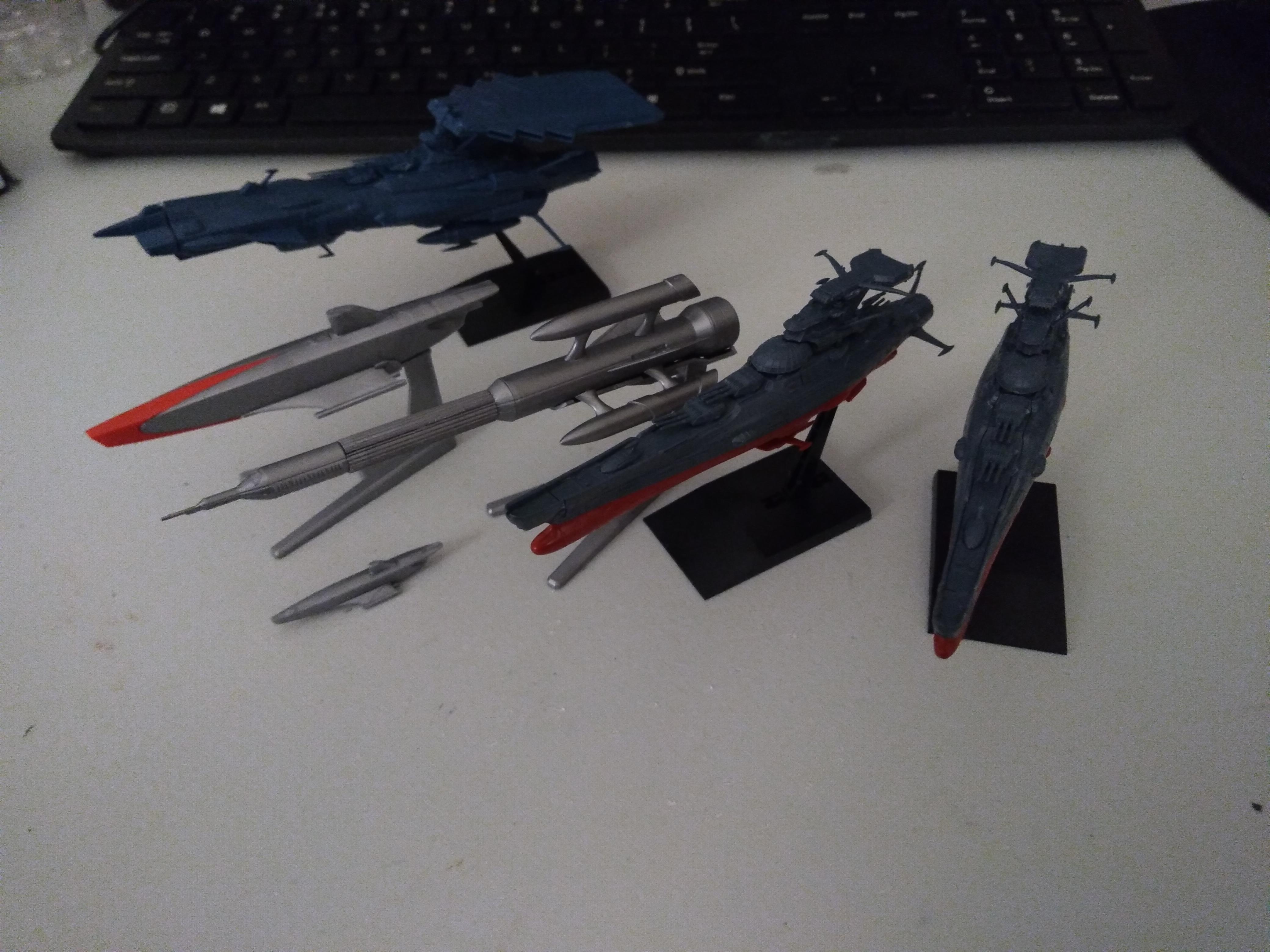 Bandai, Spaceships, Ultraman, Yamato