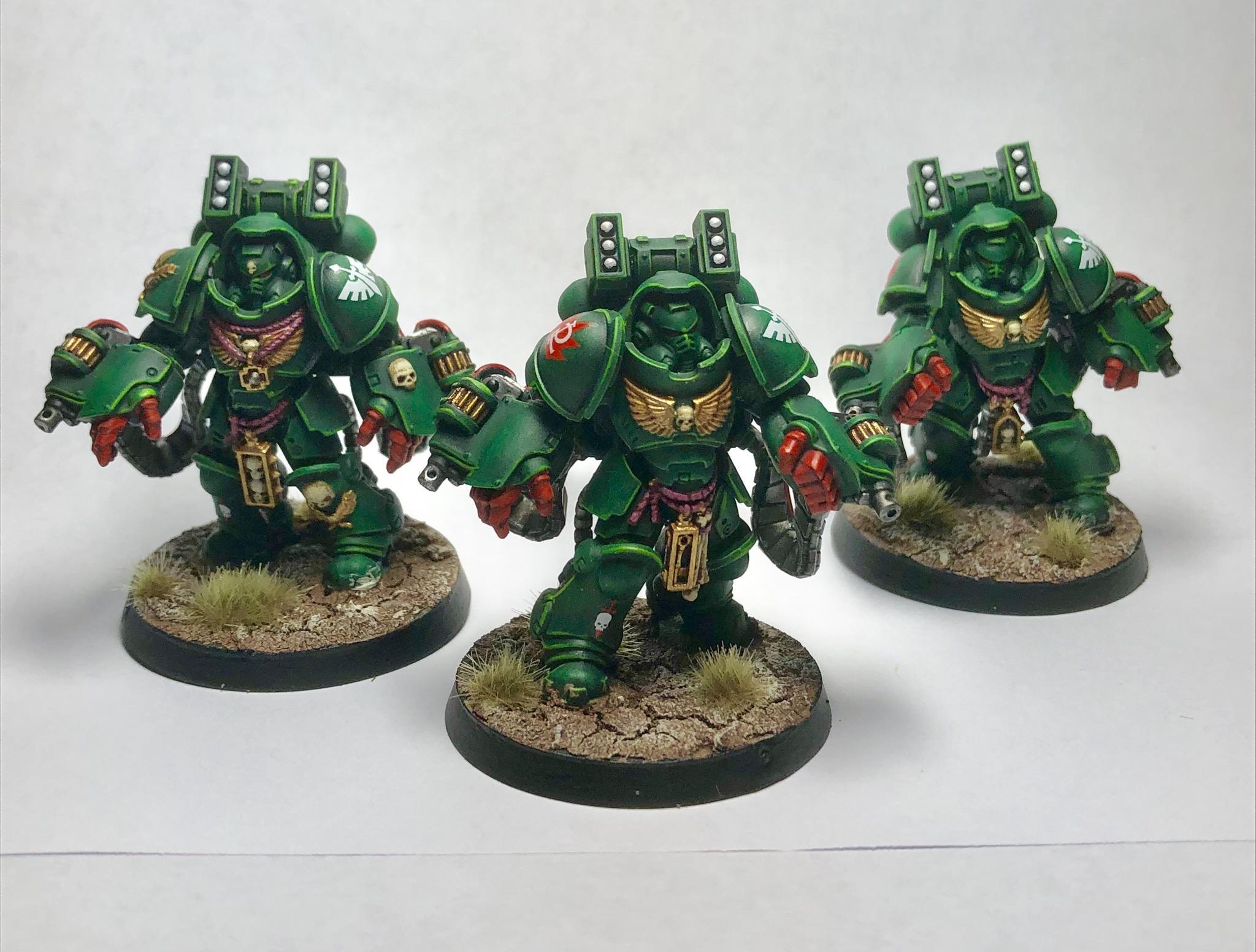Aggressors, Dark Angels, Space Marines
