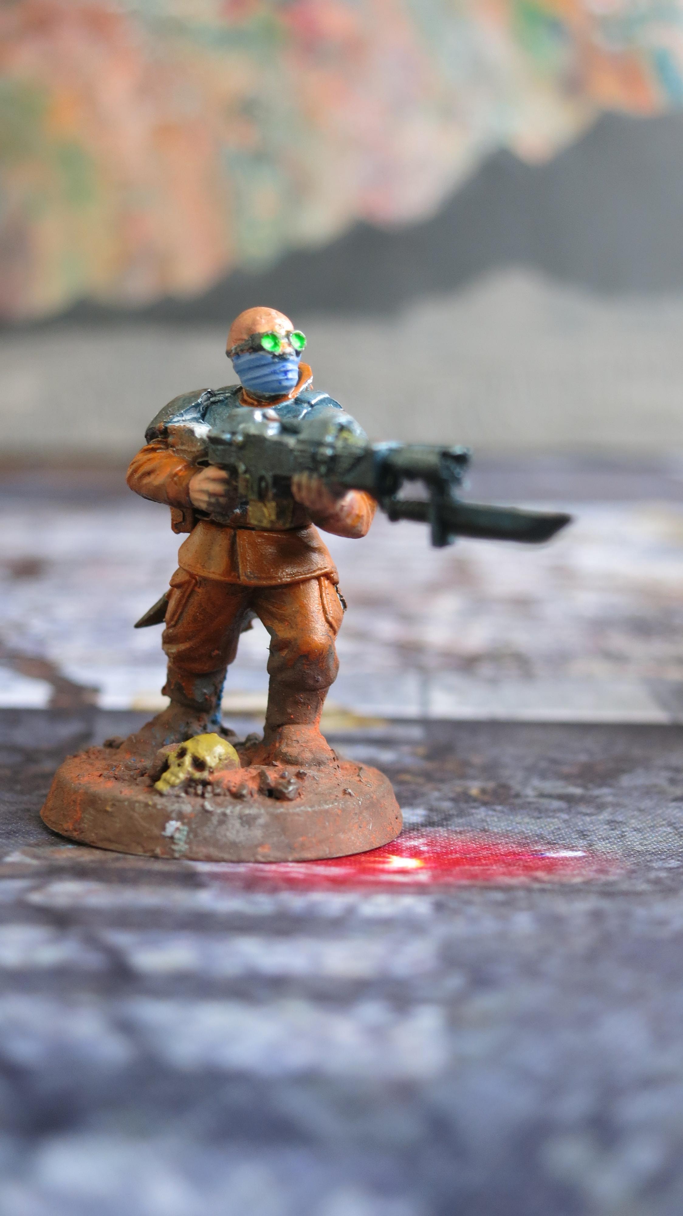 Brood Brothers, Genestealer Cult, Guardsmen, Infantry Squad, Lasgun