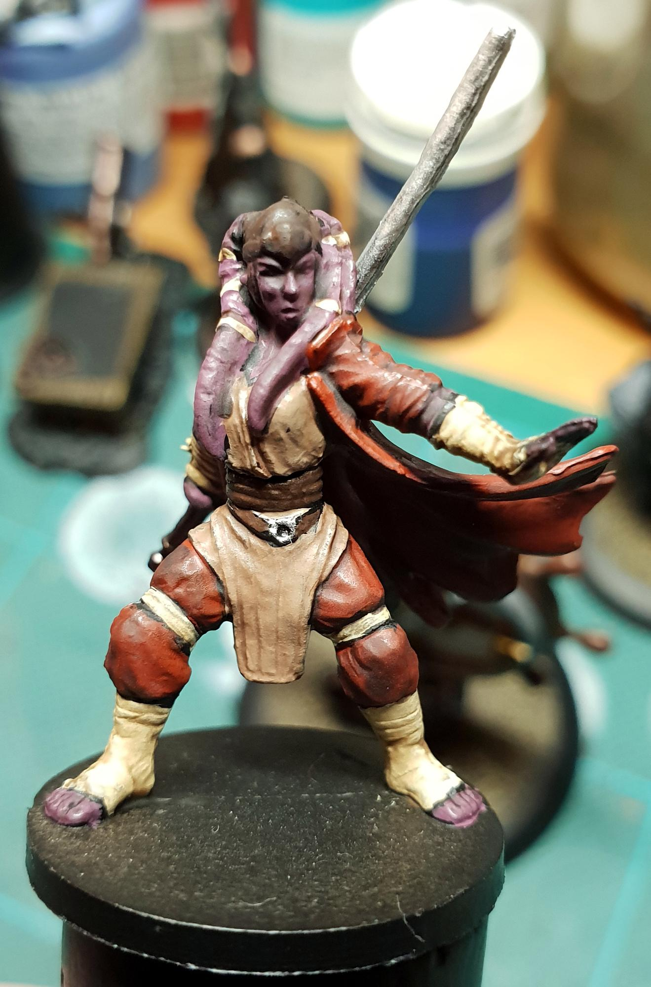 Imperial Assault, Jedi, Twi'lek, Work In Progress
