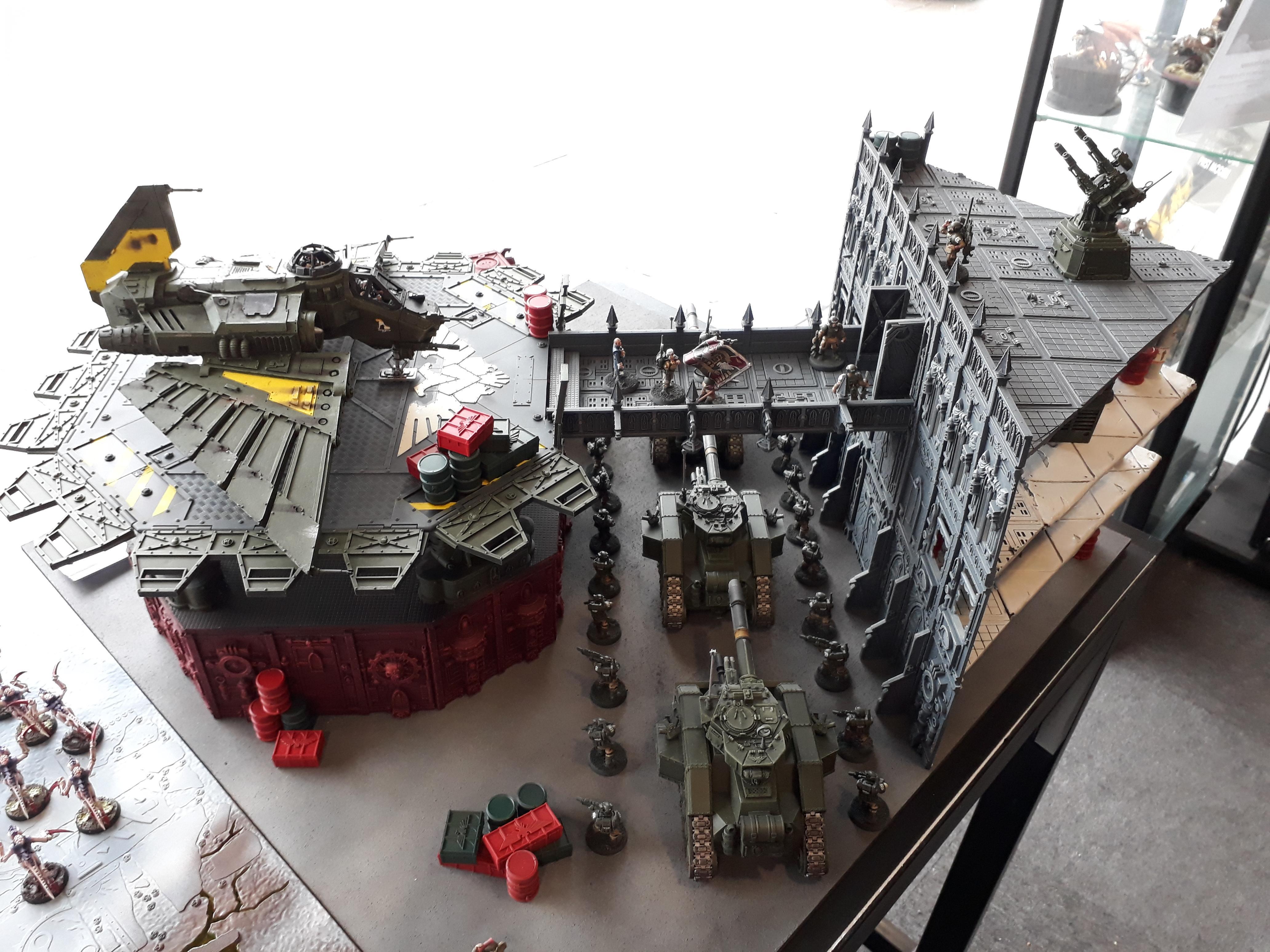 Aquila Lander, Astra Militarum, Imperial Guard, Nids, Terrain, Tyranids