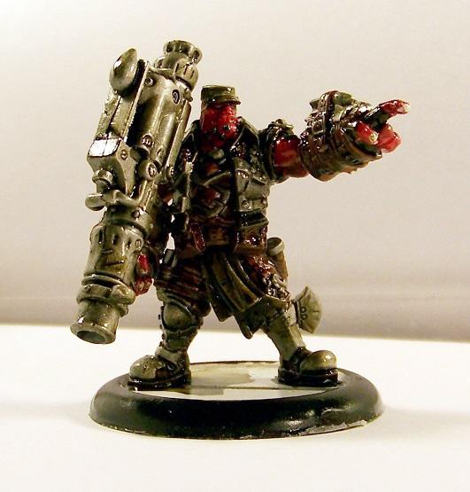 Hordes, Trollbloods, Captain Gunnbjorn