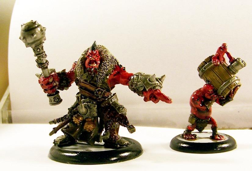 Hordes, Trollbloods, Borka Kegslayer
