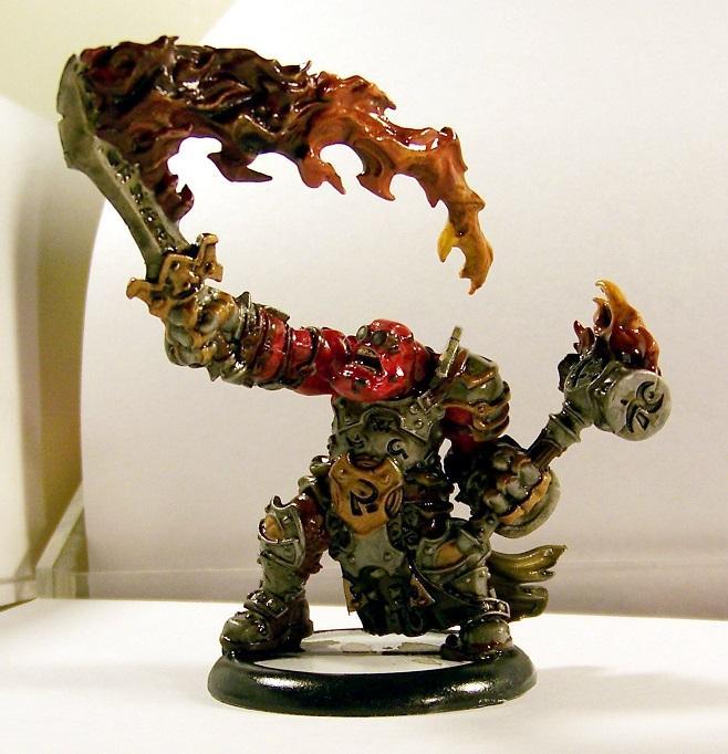 Hordes, Trollbloods, Horgle the Anvil