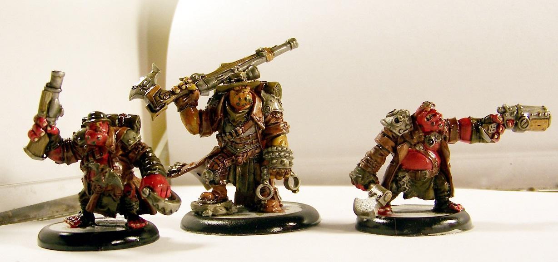 Hordes, Trollbloods, Hunters Grim