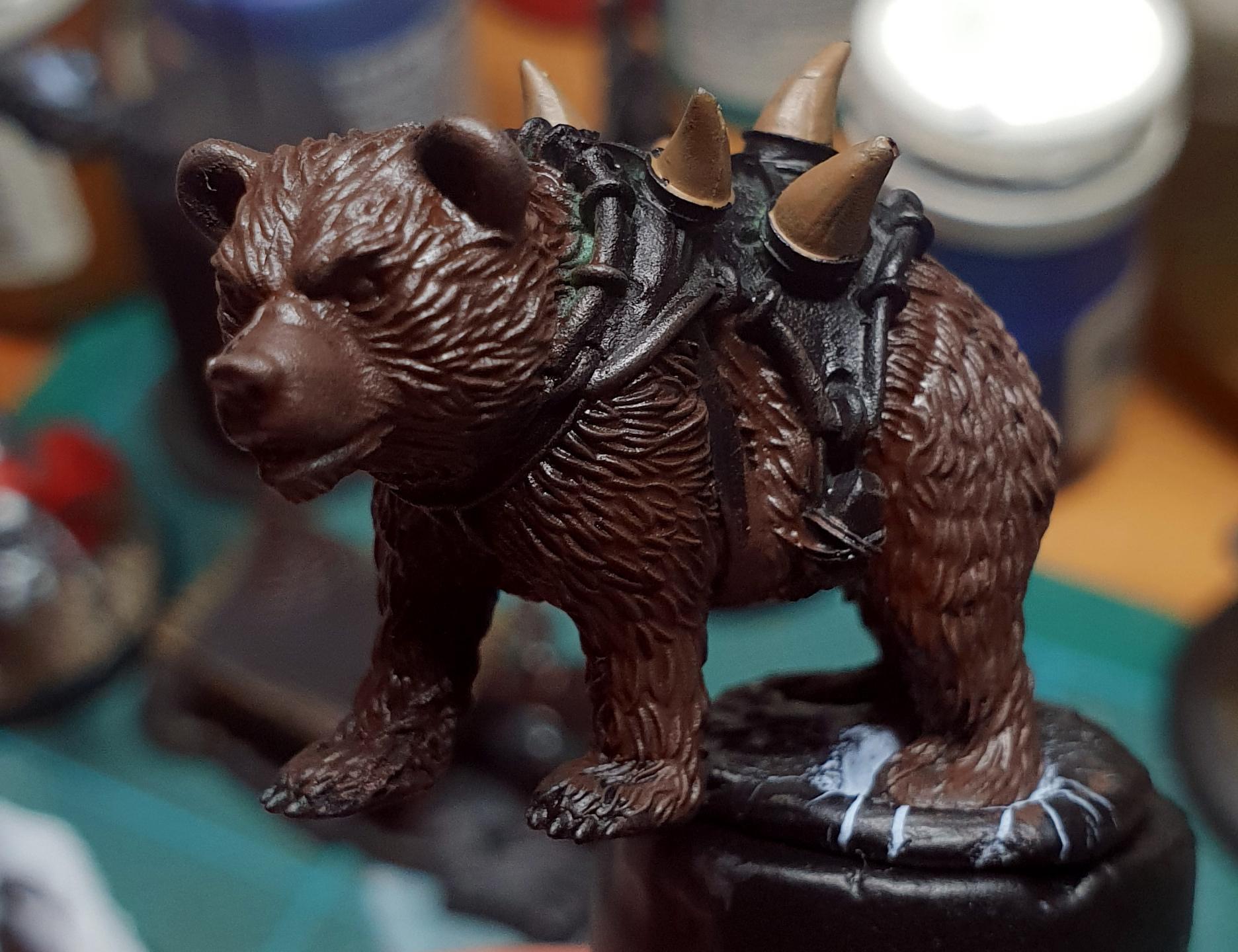 Bear, Guild Ball, Hunter's Guild, Rookie, Work In Progress