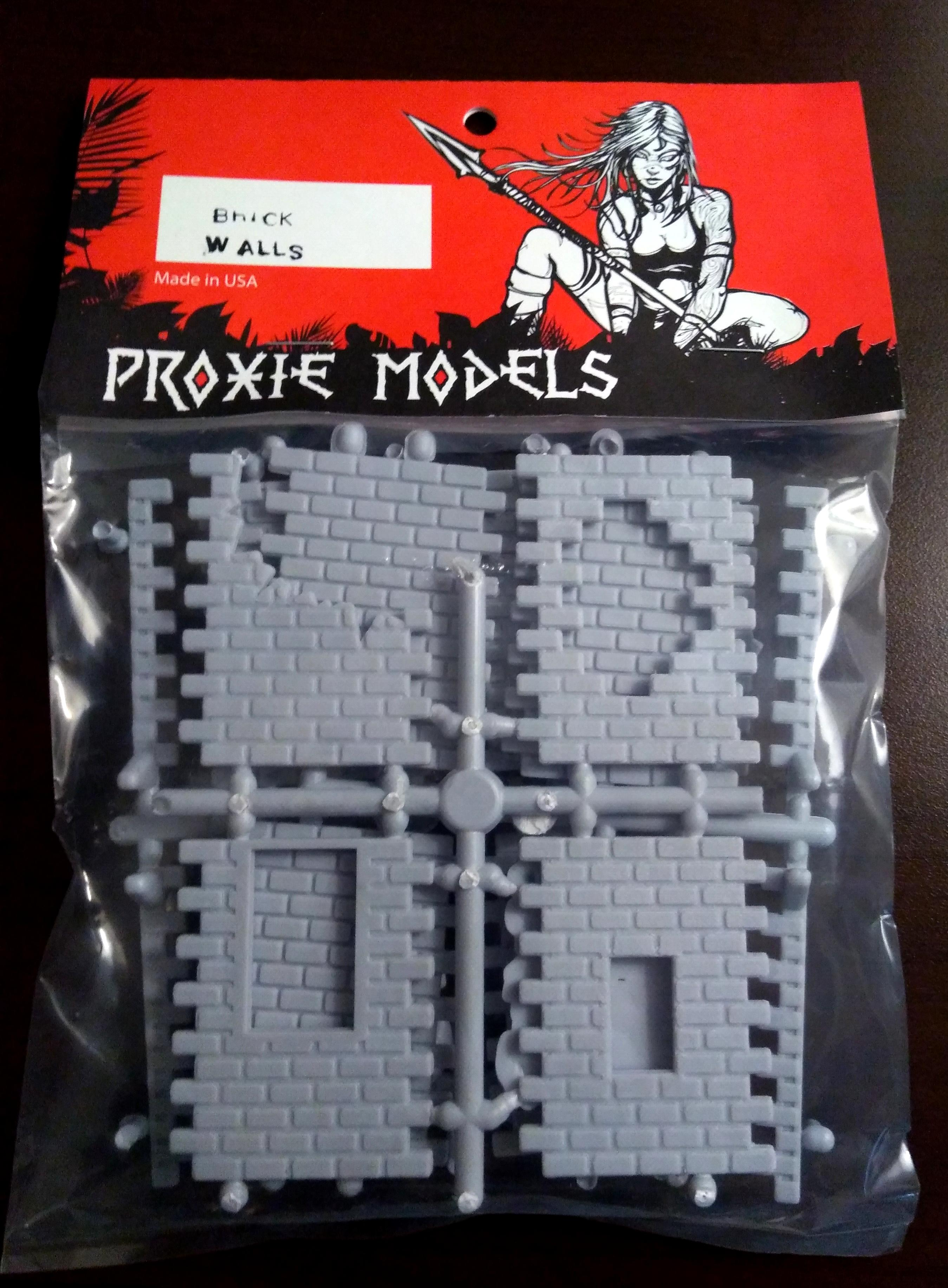Brick, Proxie, Terrain, Walls