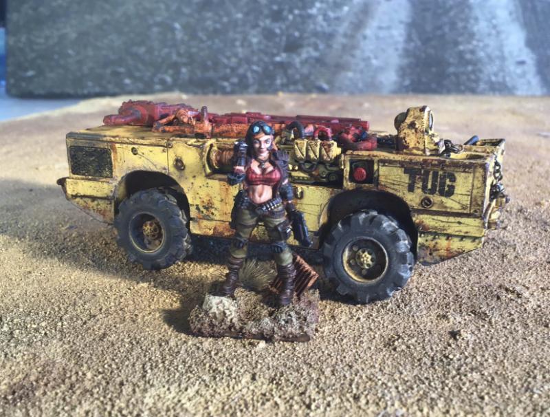 Buggy, Post Apocalypse, Truck, Wastelands