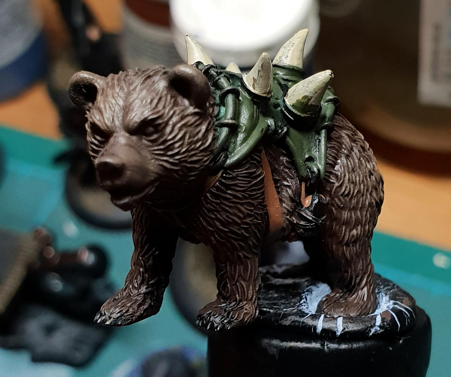Bear, Guild Ball, Work In Progress