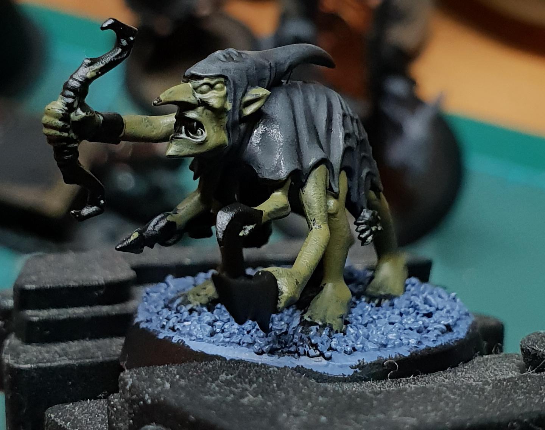 Goblins, Silver Tower, Work In Progress
