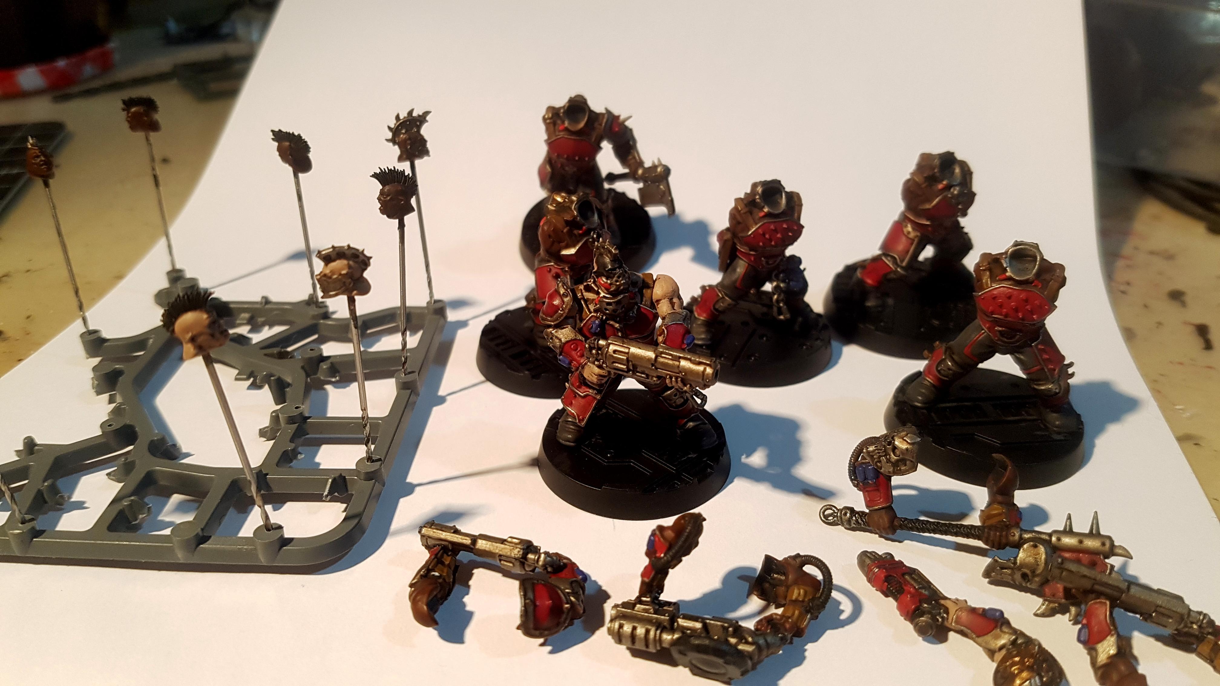 Goliaths, N17, Necromunda, Work In Progress
