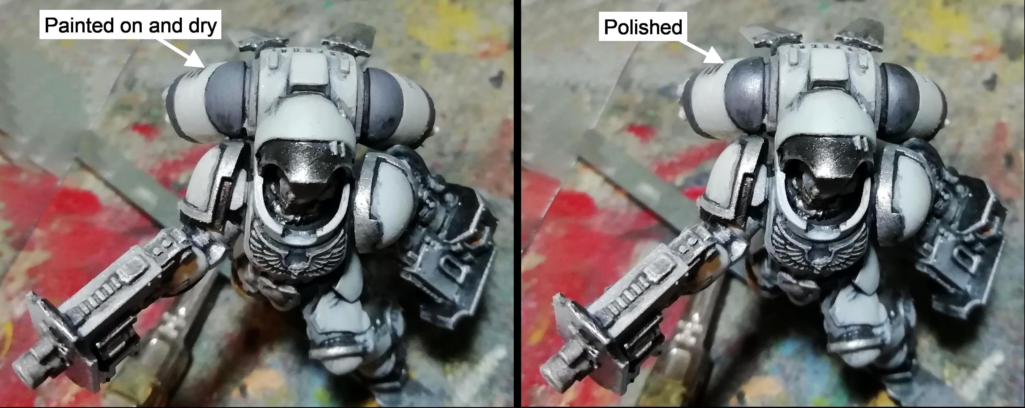 Incepror pip 5; polishing paint