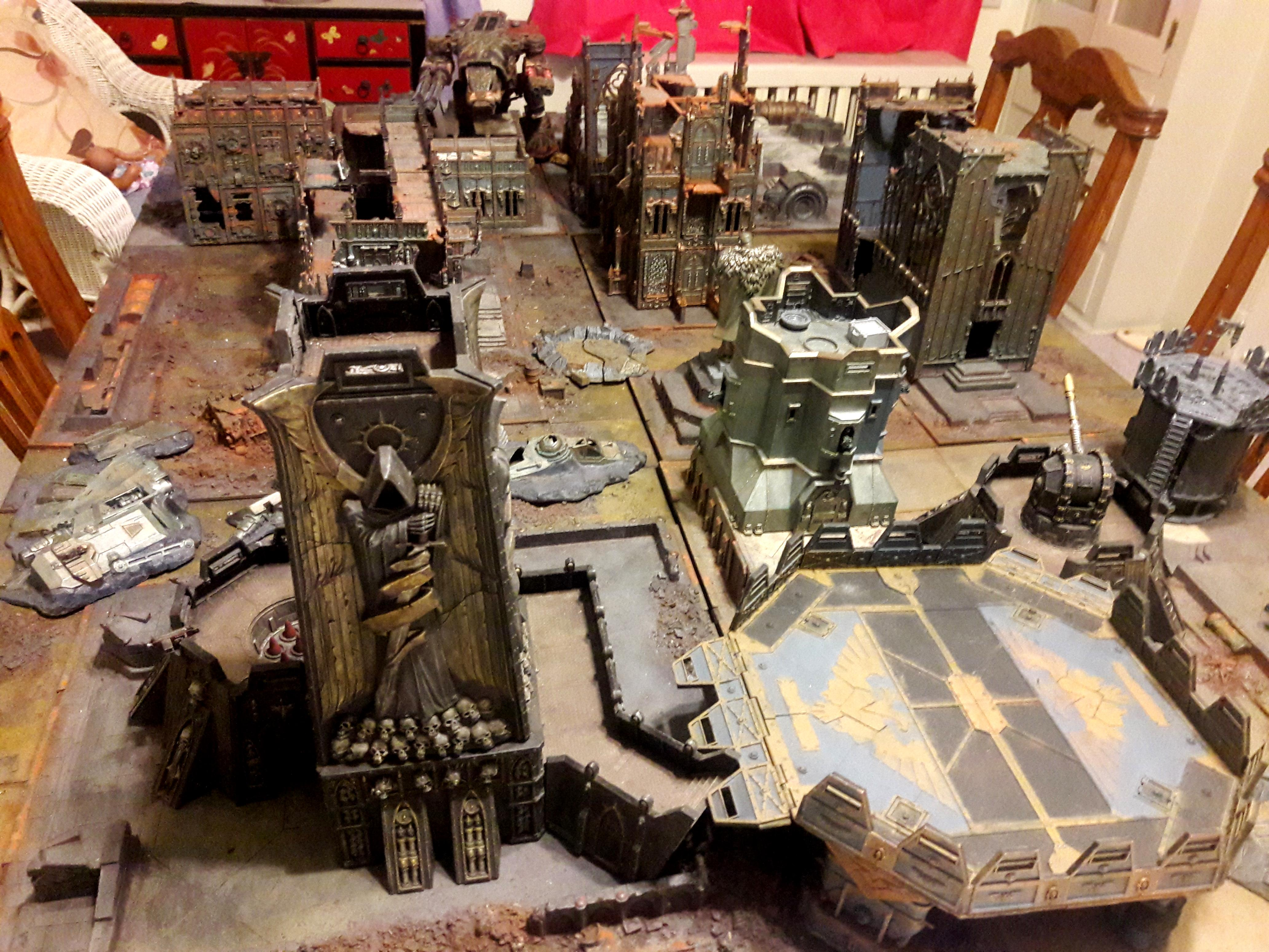 Cities Of Death, Forge World, Imperial Industrial Sector, Kill Team, Terrain, Warhammer 40,000