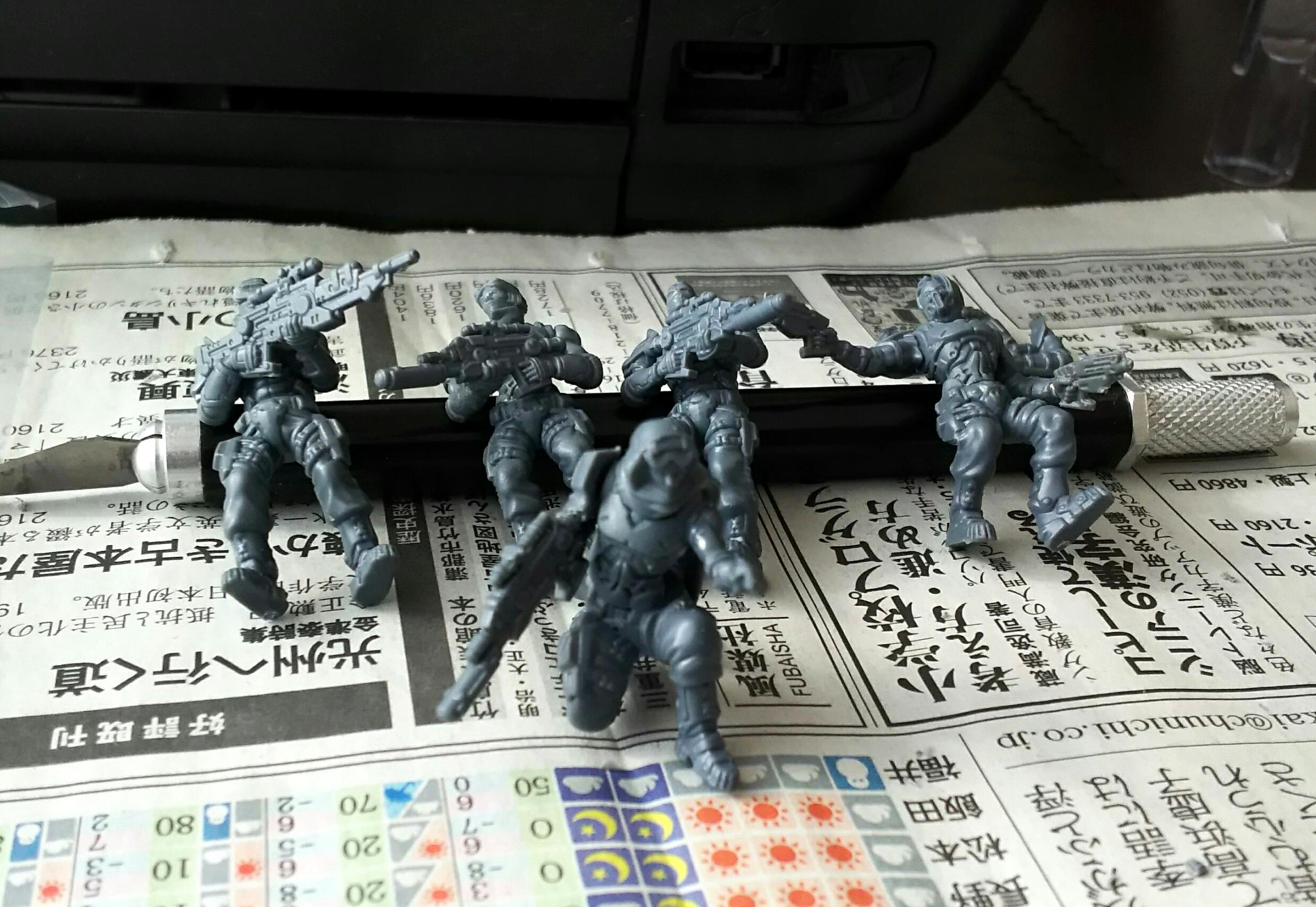Enforcer, Pathfinders, Warpath