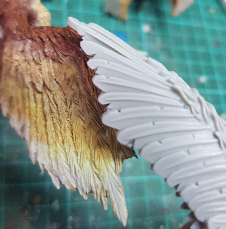Mierce, Feather details