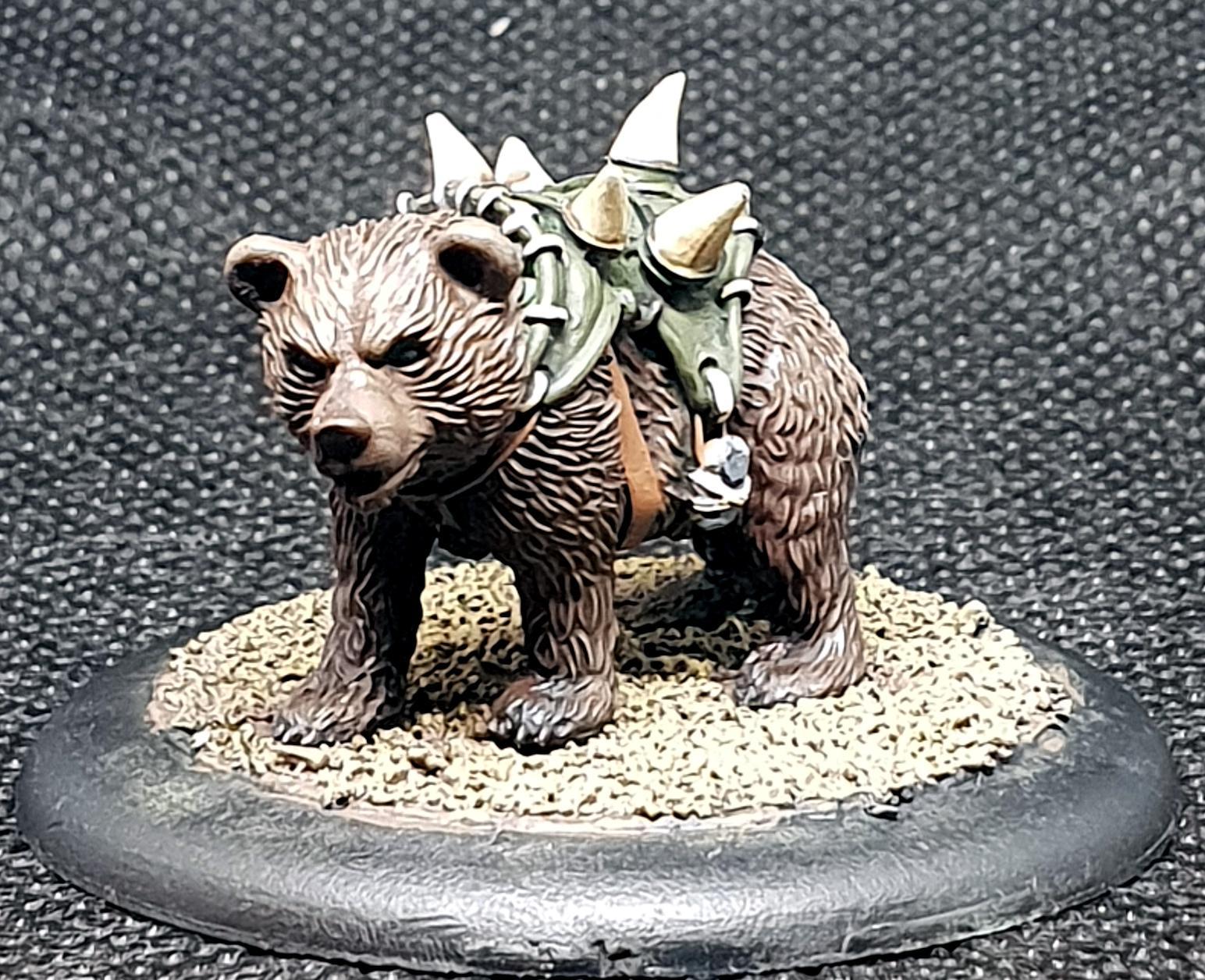 Bear, Guild Ball, Hunter's Guild, Rookie