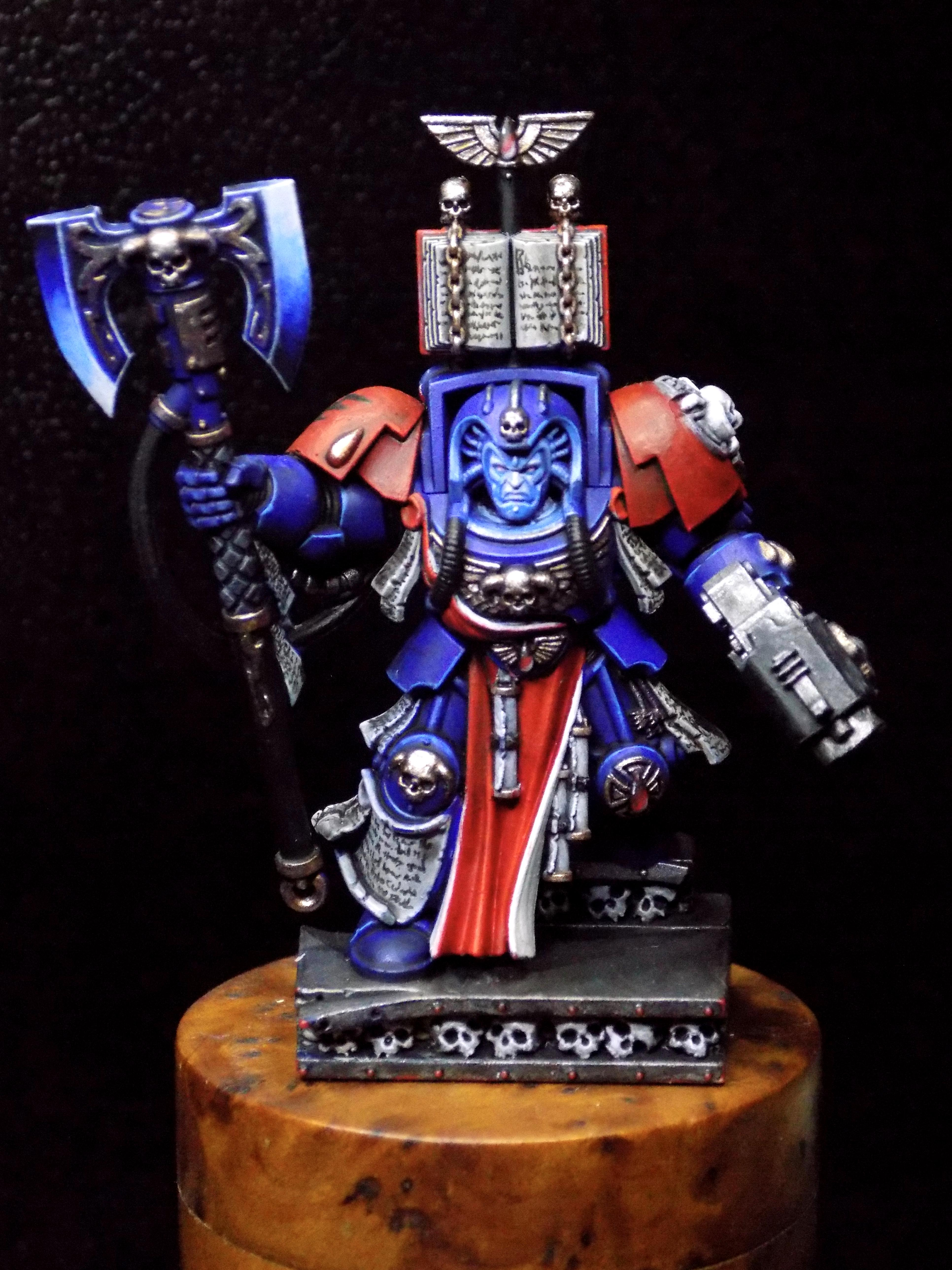 Blood Angels, Commission, Gem, Object Source Lighting, Space Hulk, Space Marines, Terminator Armor
