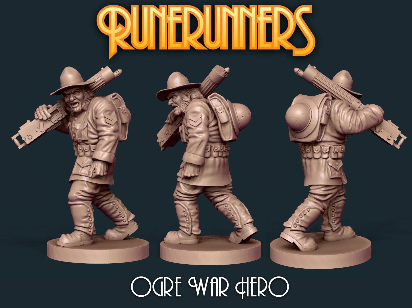 Runerunners Ogre War Hero