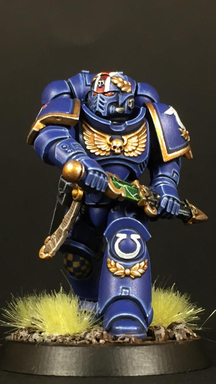Lieutenant, Primaris, Space Marines, Ultramarines, Warhammer 40,000